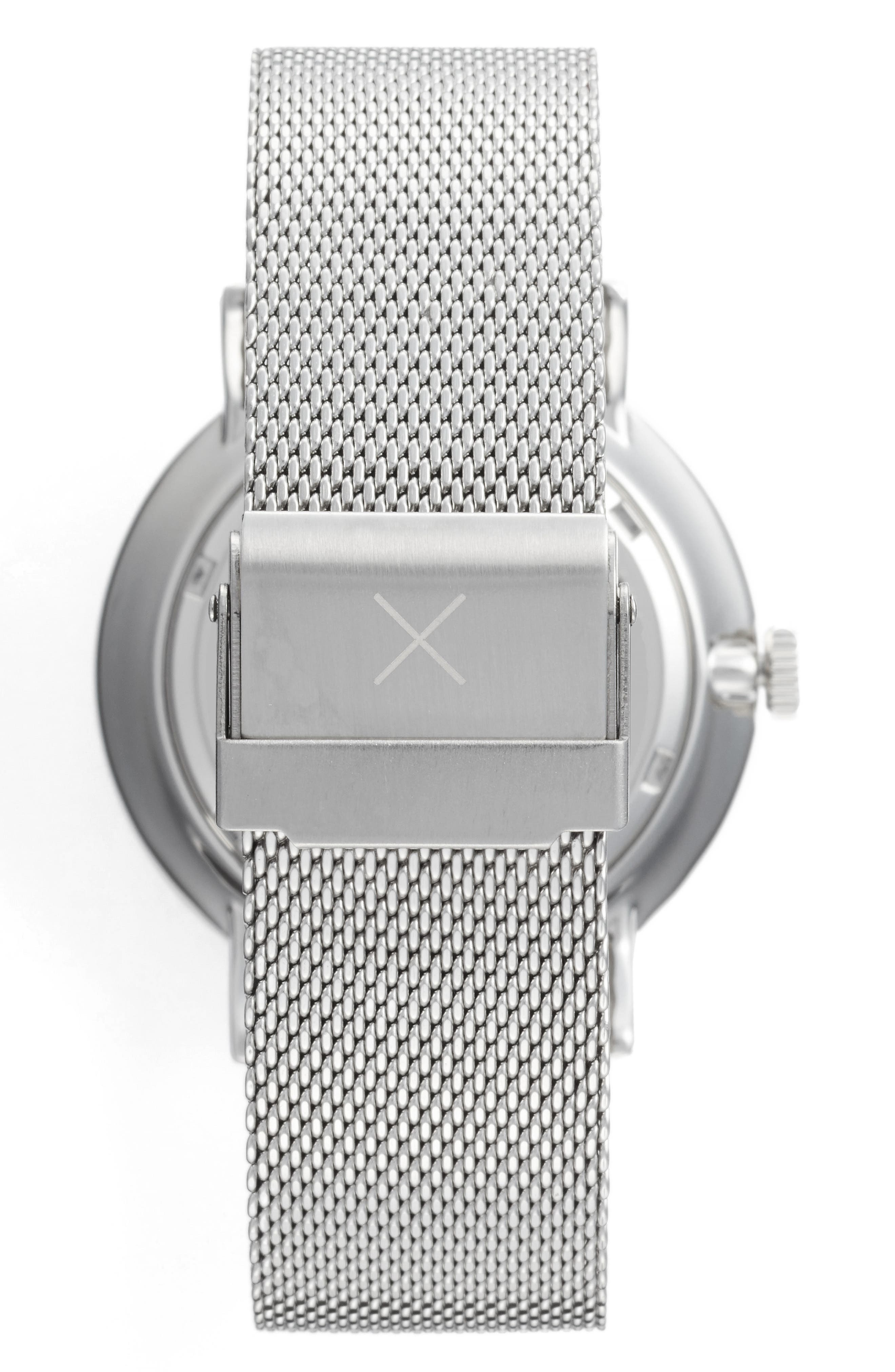 THRONE,                             1.0 Mesh Strap Watch, 40mm,                             Alternate thumbnail 2, color,                             040
