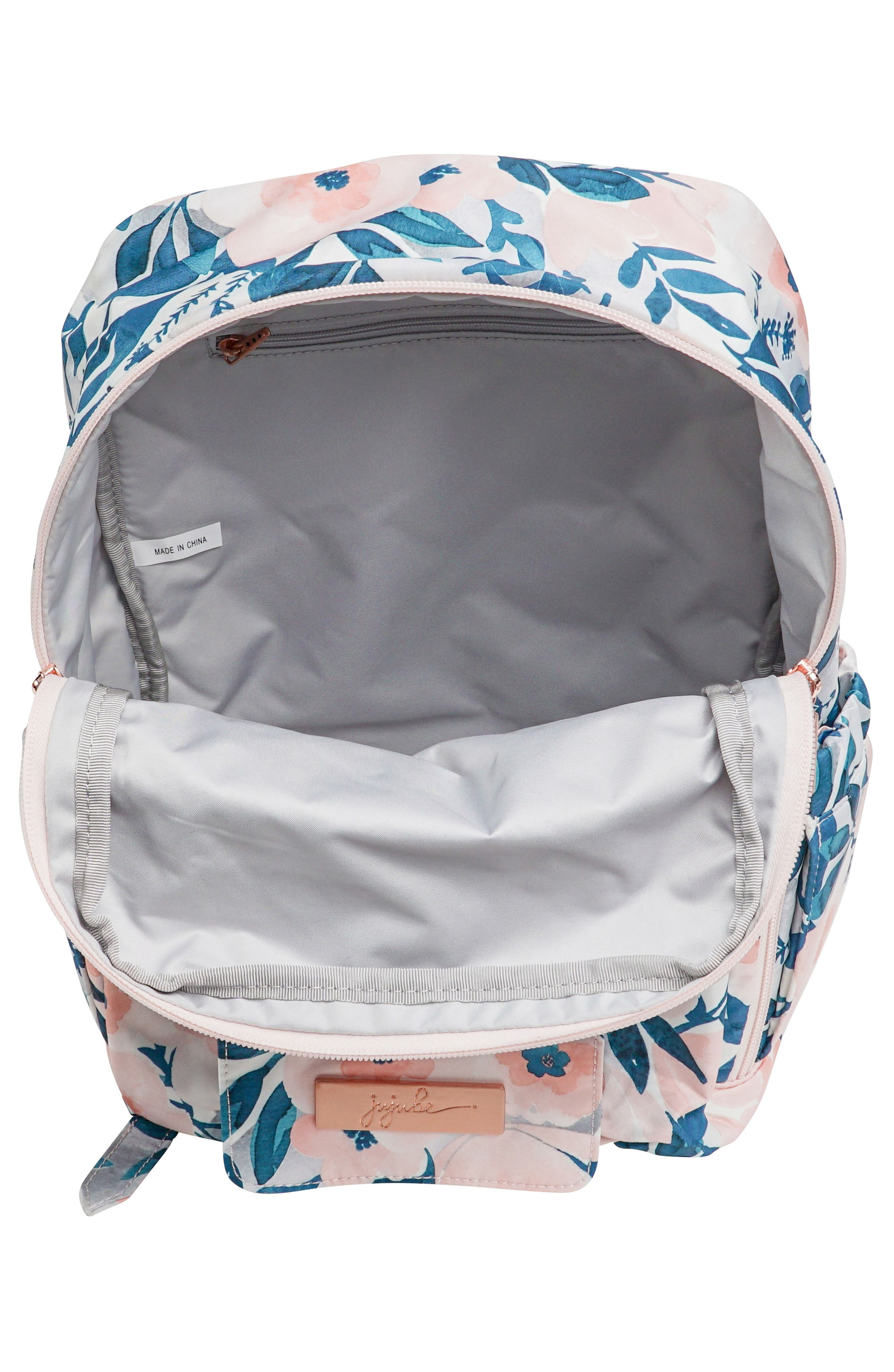 MiniBe Rose Backpack,                             Alternate thumbnail 9, color,
