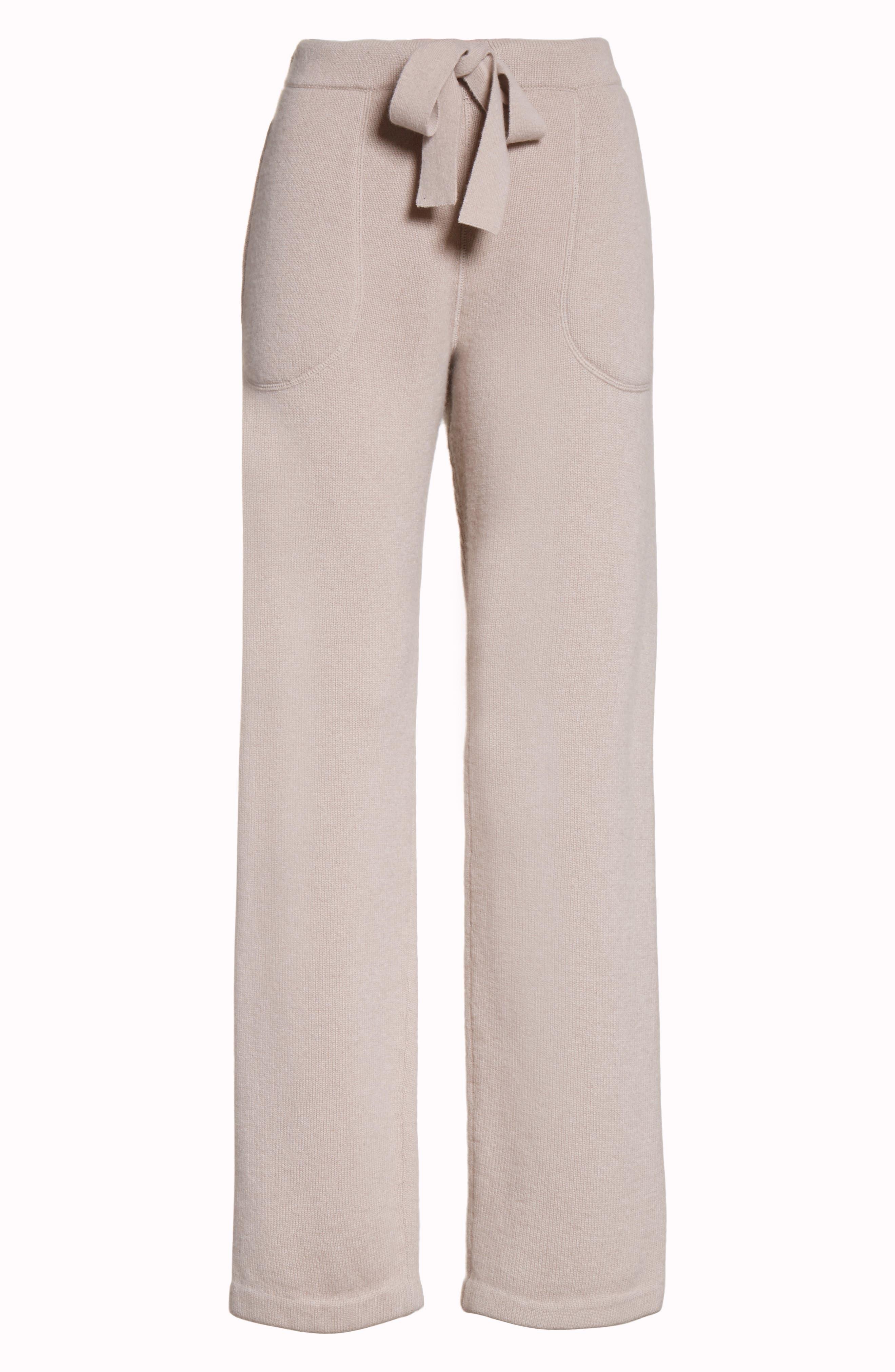Sutton Cashmere Pants,                             Alternate thumbnail 6, color,                             211