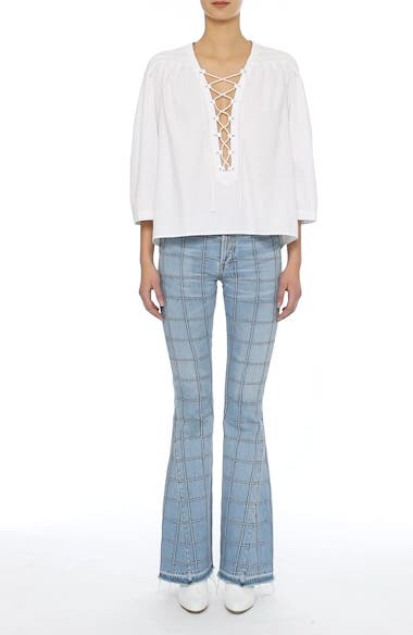 Janis High Rise Flare Jeans, video thumbnail