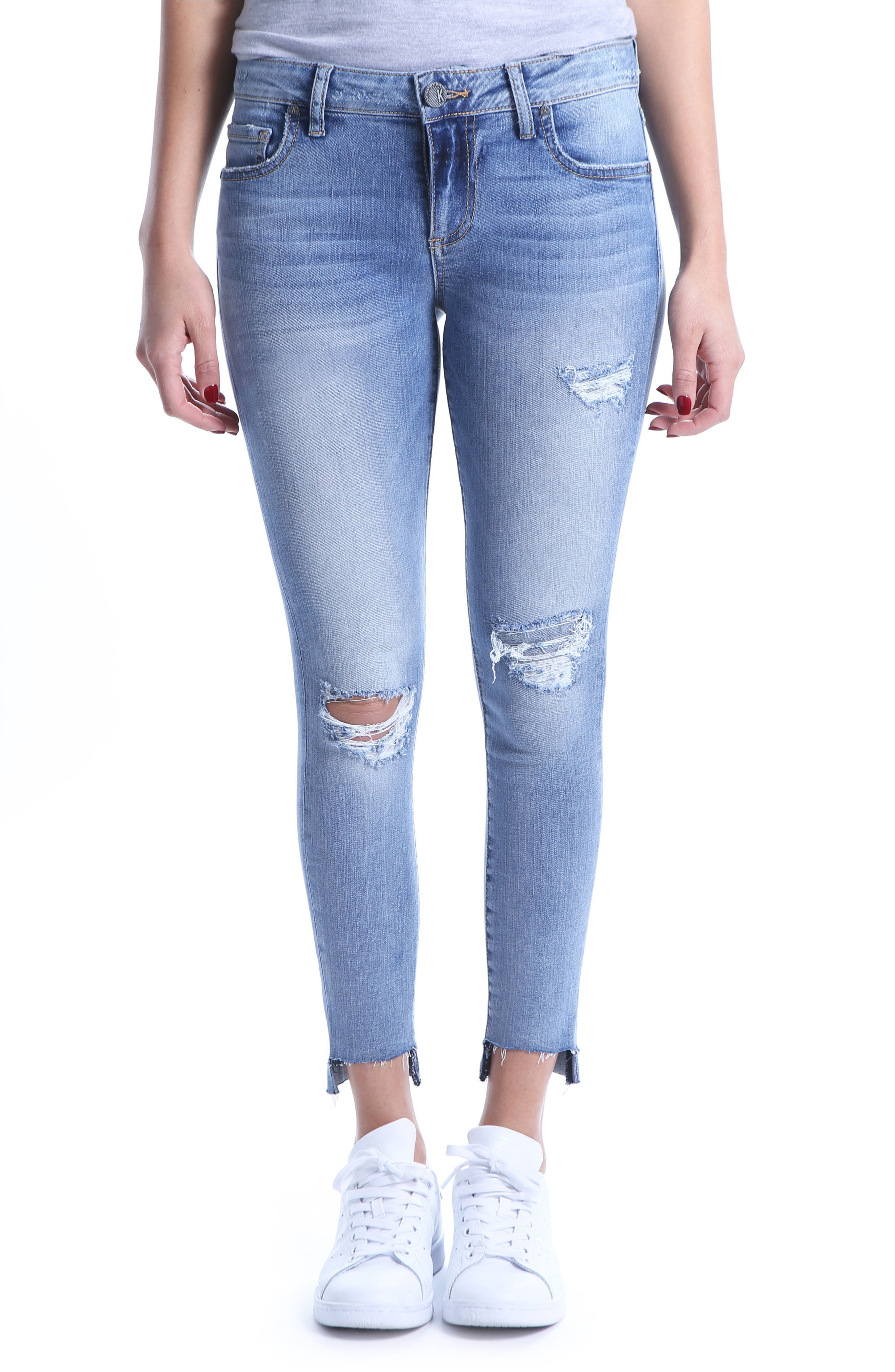 Connie Skinny Ankle Jeans,                         Main,                         color, 400