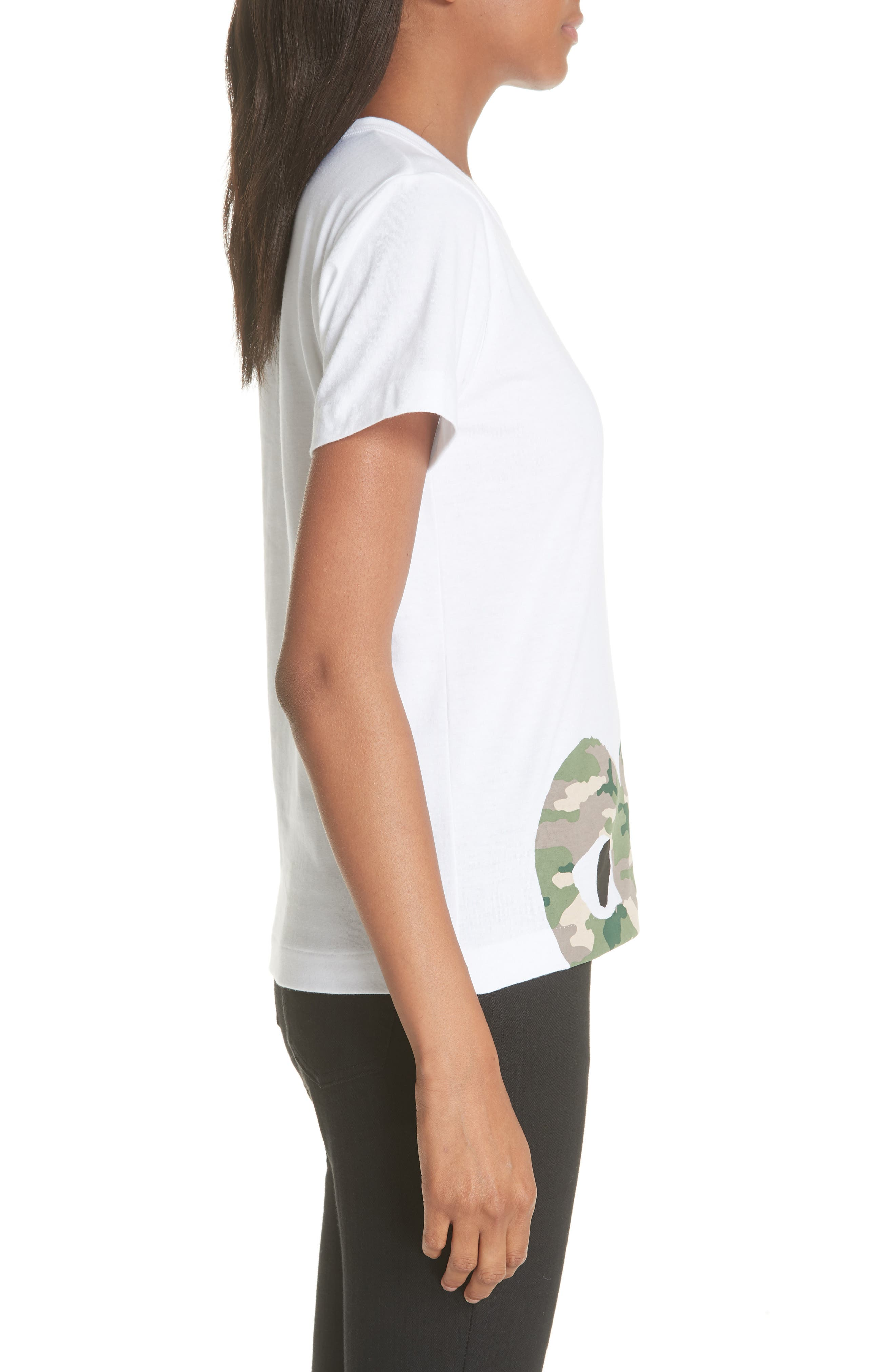 PLAY Graphic Tee,                             Alternate thumbnail 3, color,                             WHITE