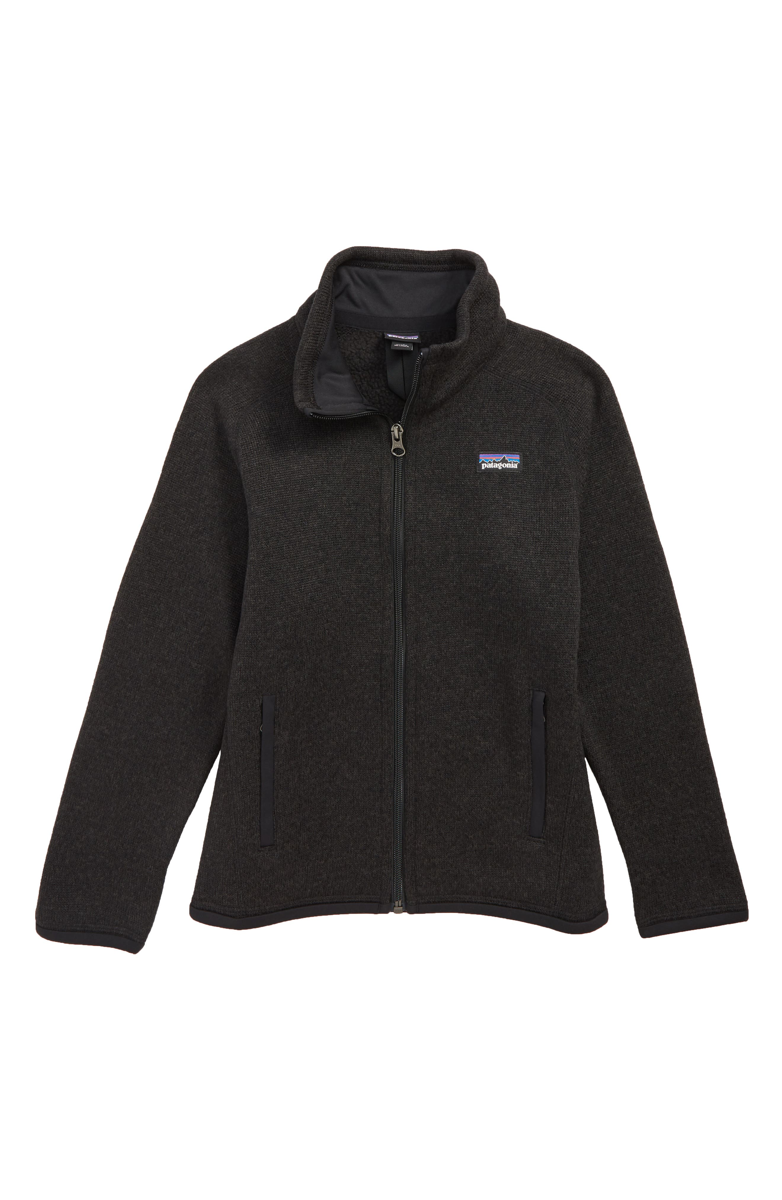 Better Sweater<sup>®</sup> Jacket,                         Main,                         color, BLACK