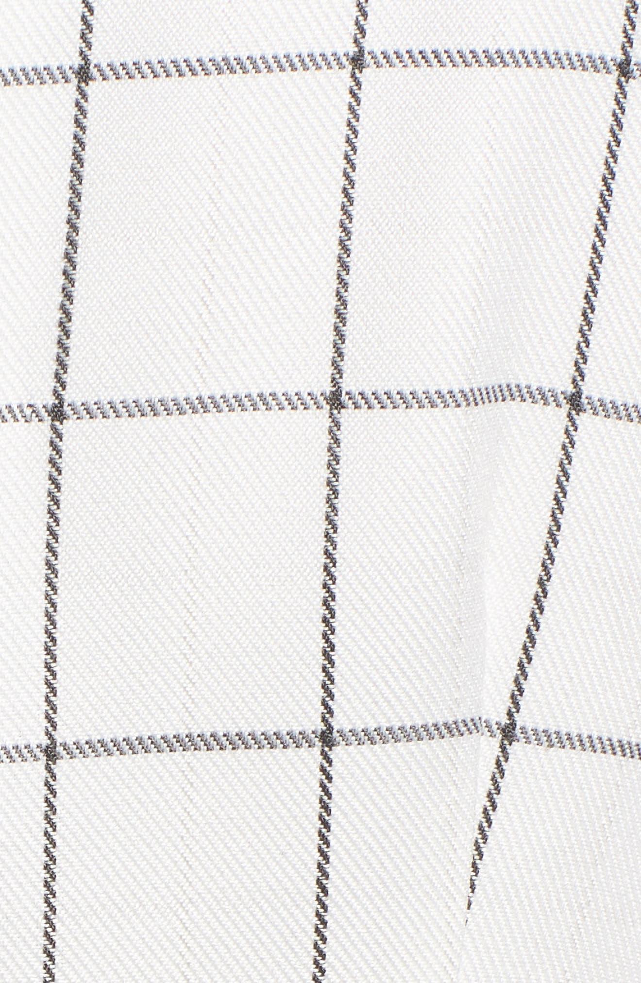 Chriselle x J.O.A. Blazer Minidress,                             Alternate thumbnail 5, color,                             100