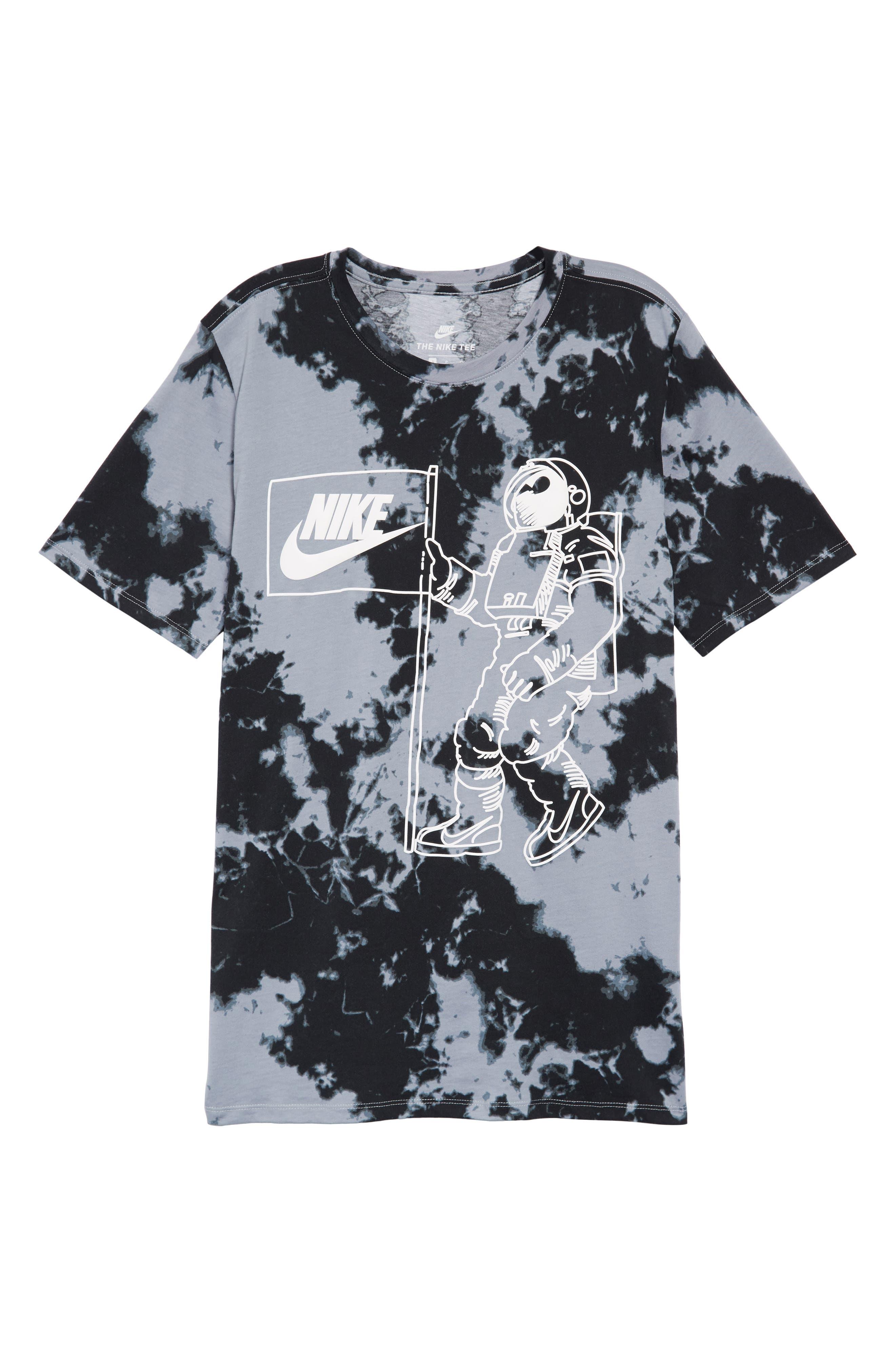 Sportswear Tie Dye T-Shirt,                             Alternate thumbnail 6, color,