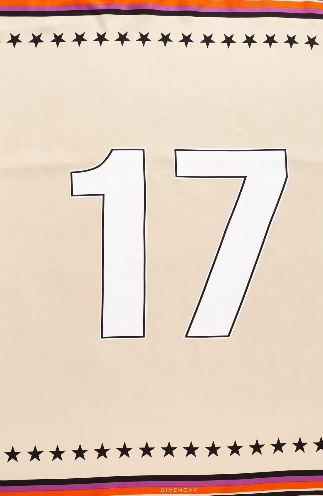'17' Square Silk Scarf,                             Alternate thumbnail 14, color,