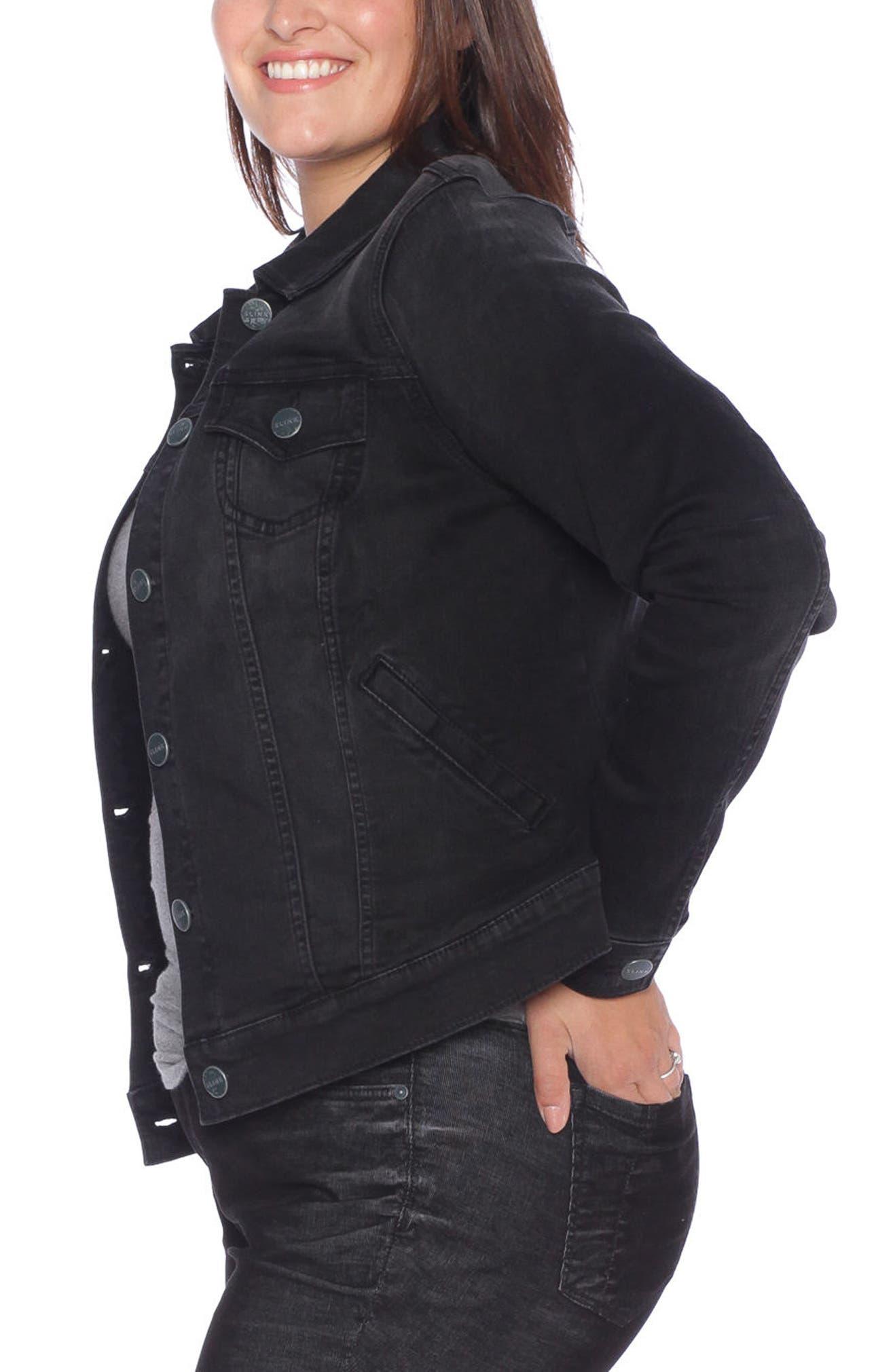 8c013e9ce9771 SLINK Jeans Denim Trucker Jacket (Plus Size)
