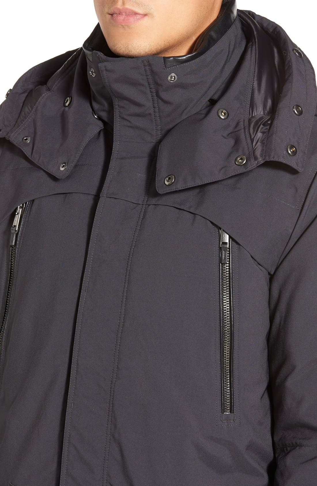 TUMI,                             'Fully Loaded' Parka with Genuine Coyote Fur Trim,                             Alternate thumbnail 2, color,                             021