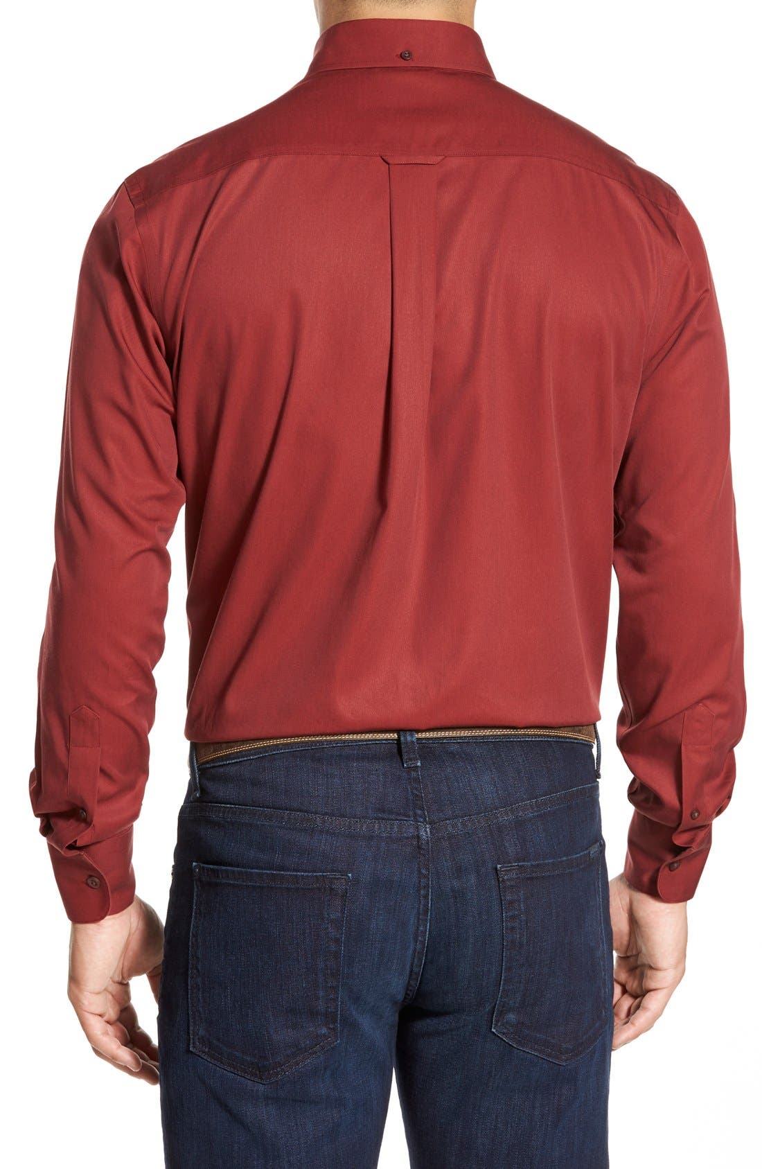 Smartcare<sup>™</sup> Traditional Fit Twill Boat Shirt,                             Alternate thumbnail 75, color,