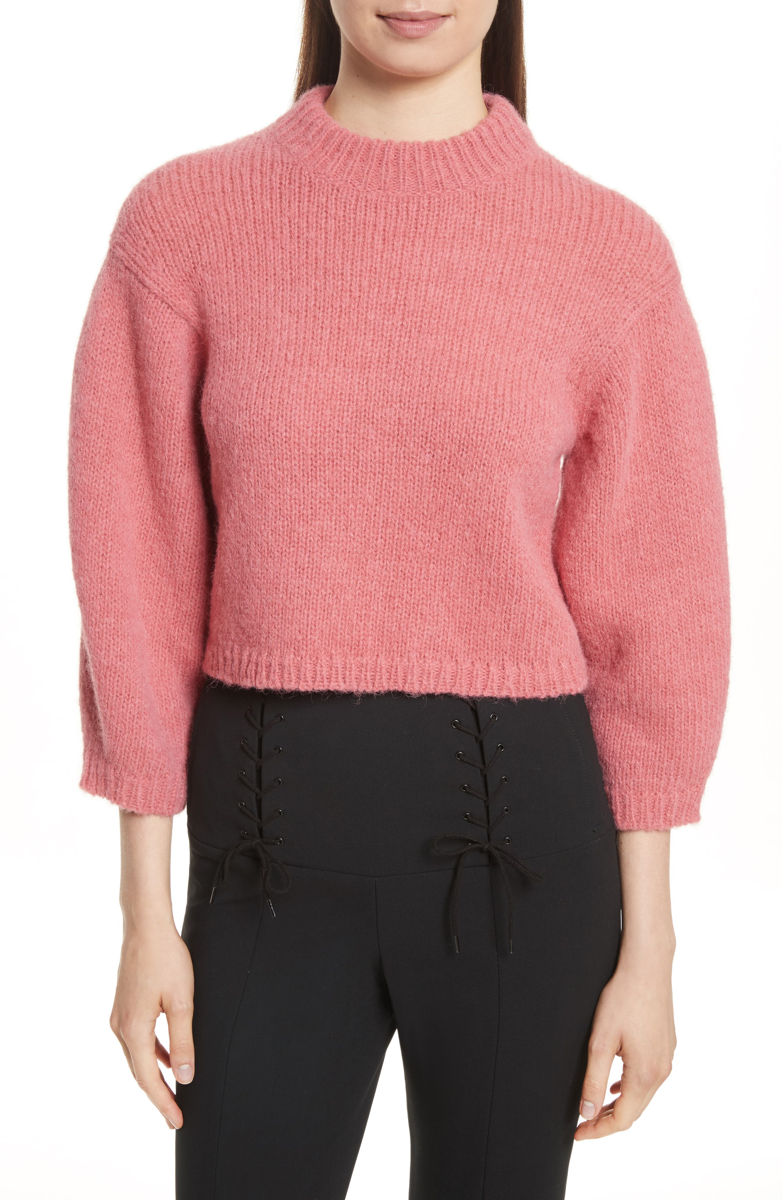 Cozette Cropped Pullover, Main, color, 695