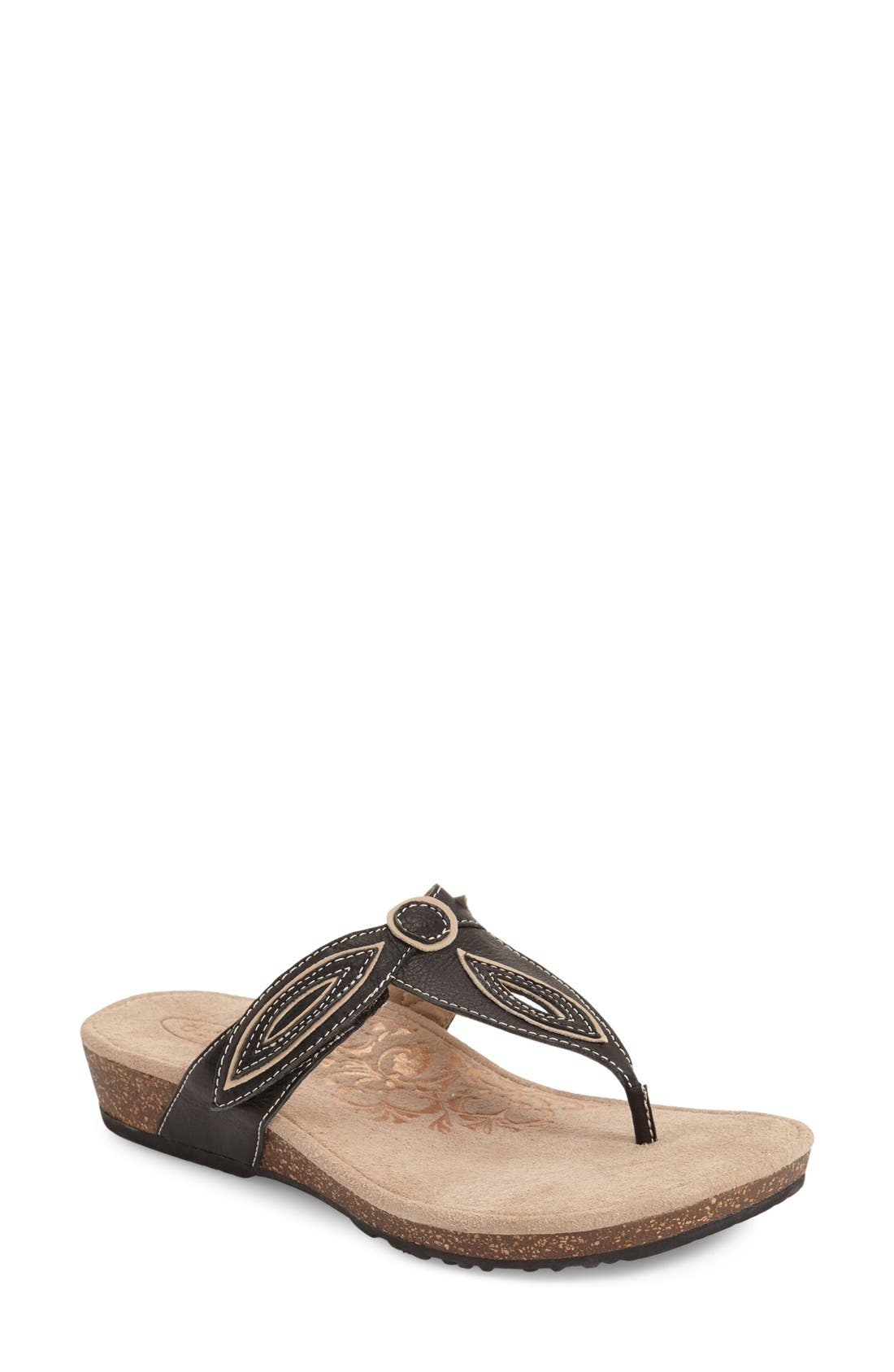 'Terri' Flip Flop,                         Main,                         color, 001