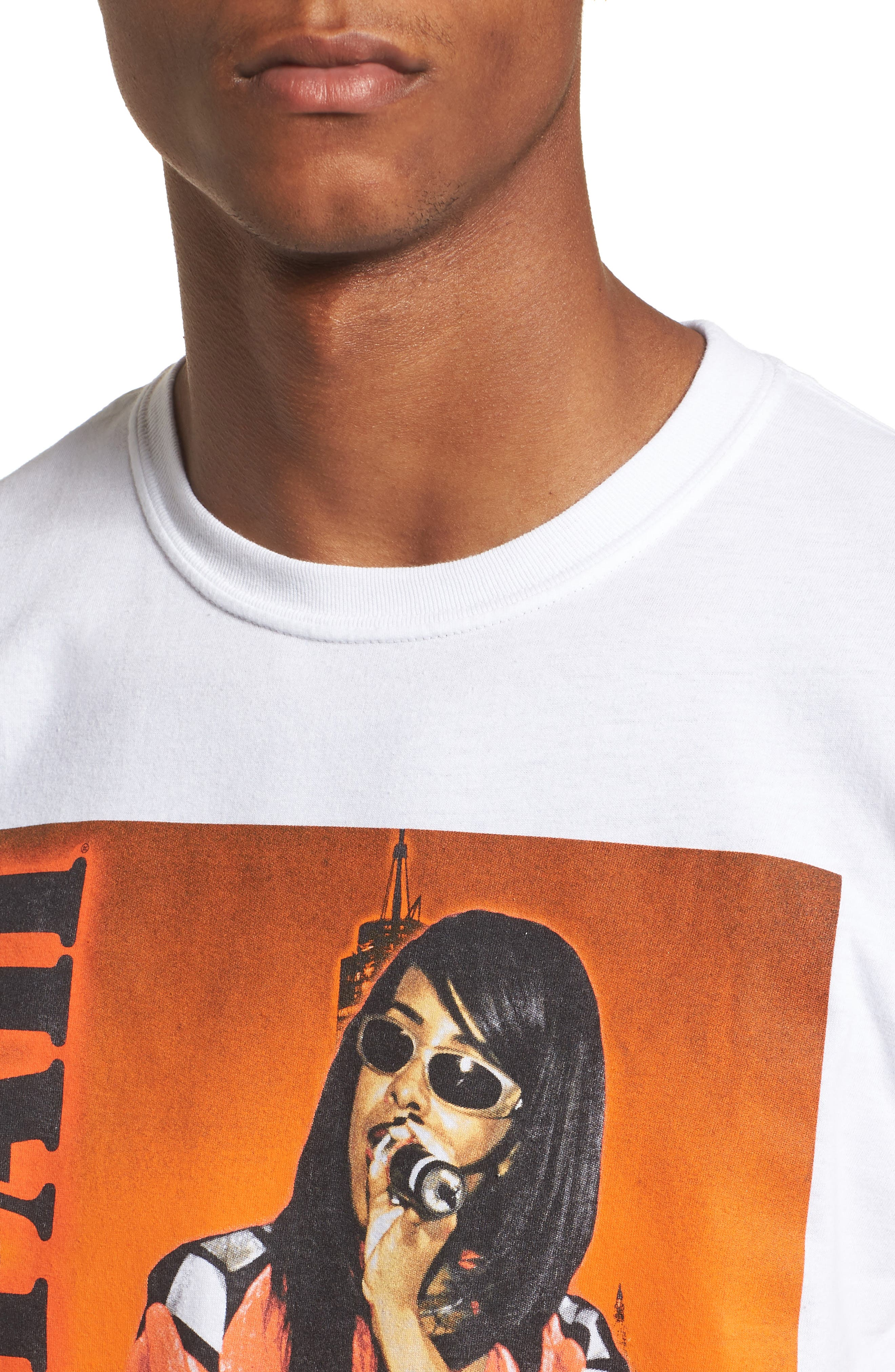 Aaliyah T-Shirt,                             Alternate thumbnail 4, color,                             100