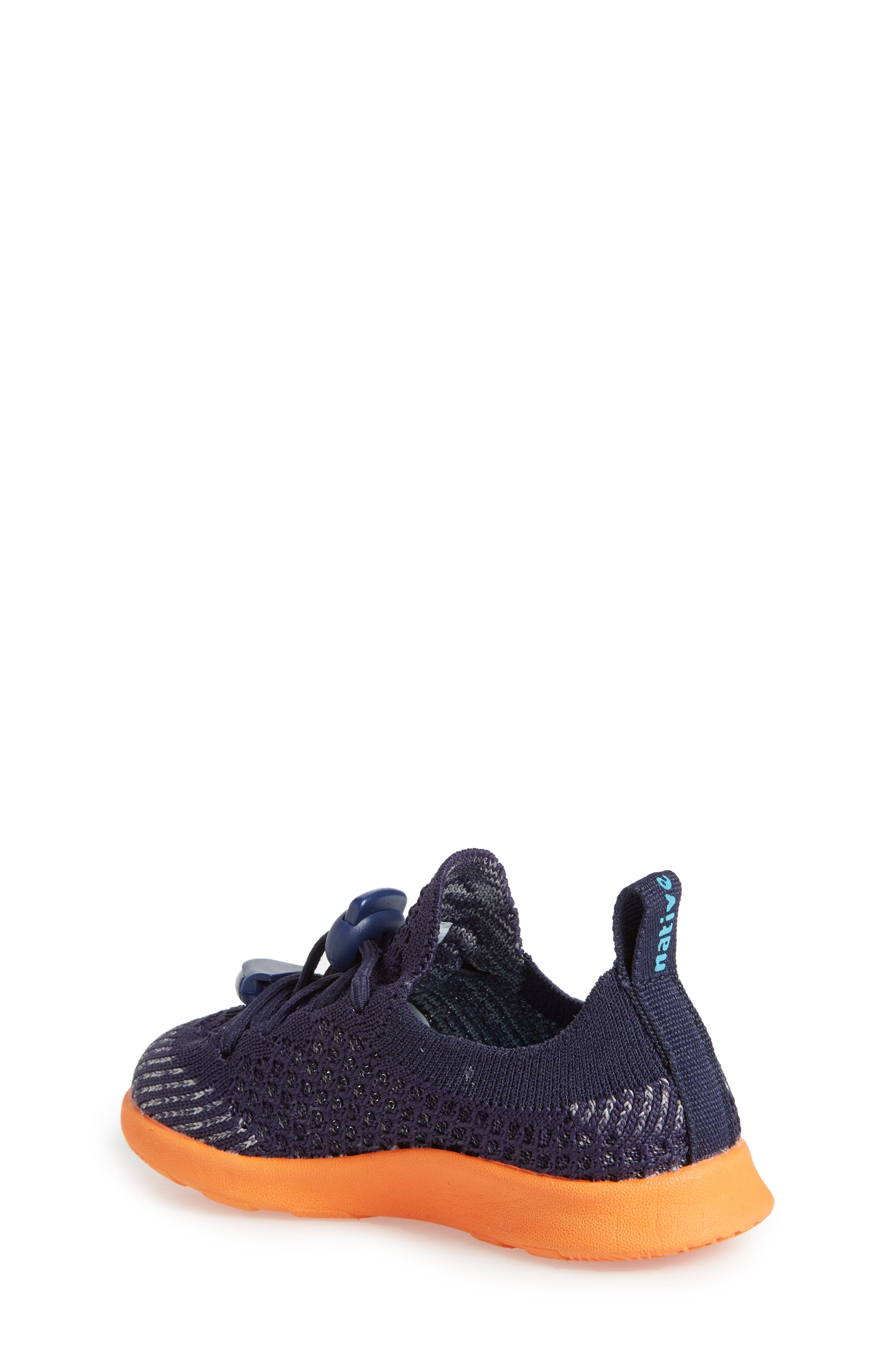 AP Mercury LiteKnit Sneaker,                             Alternate thumbnail 2, color,                             REGATTA BLUE/ SUNSET ORANGE