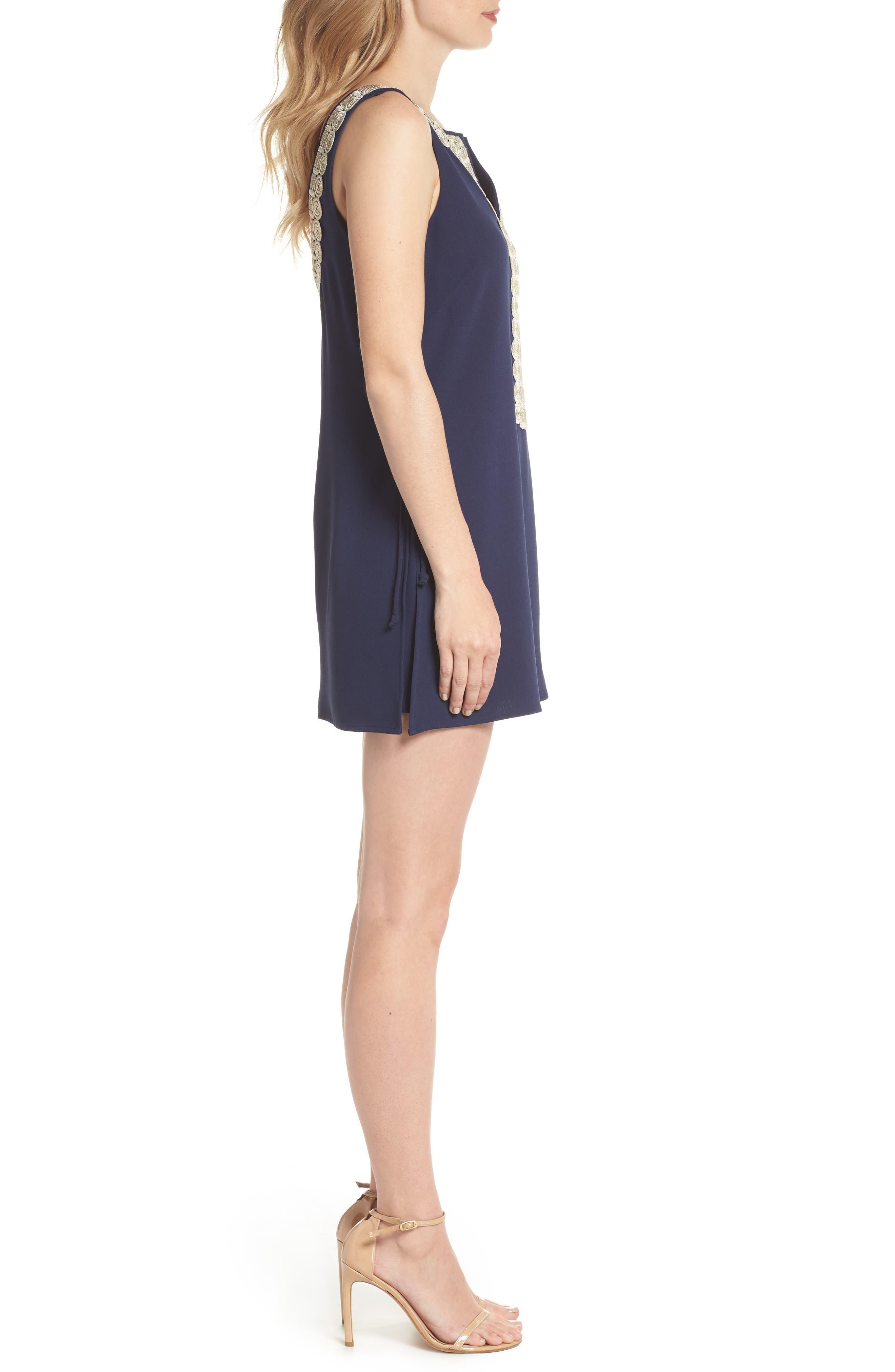 Donna Romper Dress,                             Alternate thumbnail 3, color,                             408