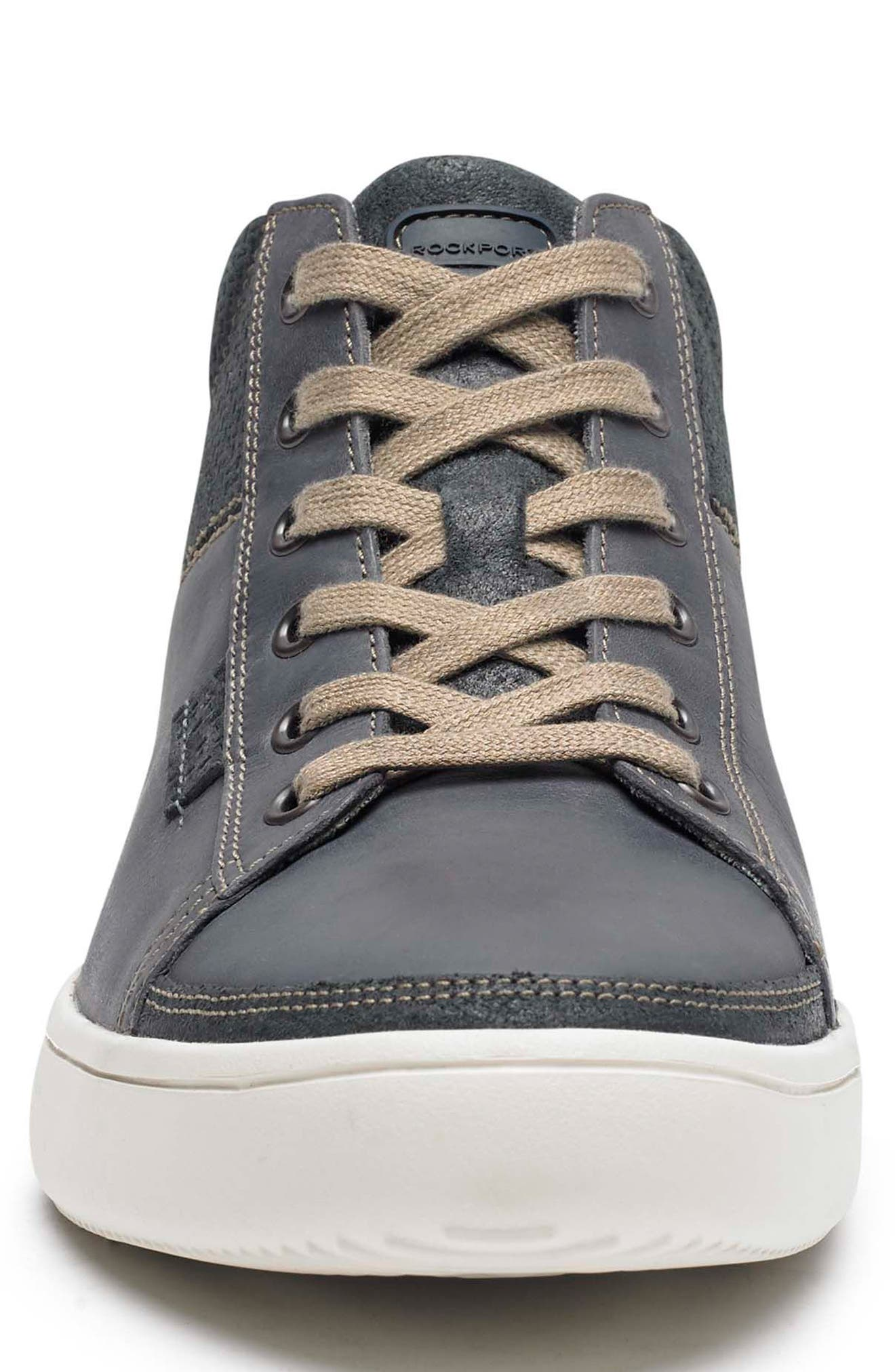 Colle Sneaker,                             Alternate thumbnail 4, color,                             BLUE/ GREY LEATHER