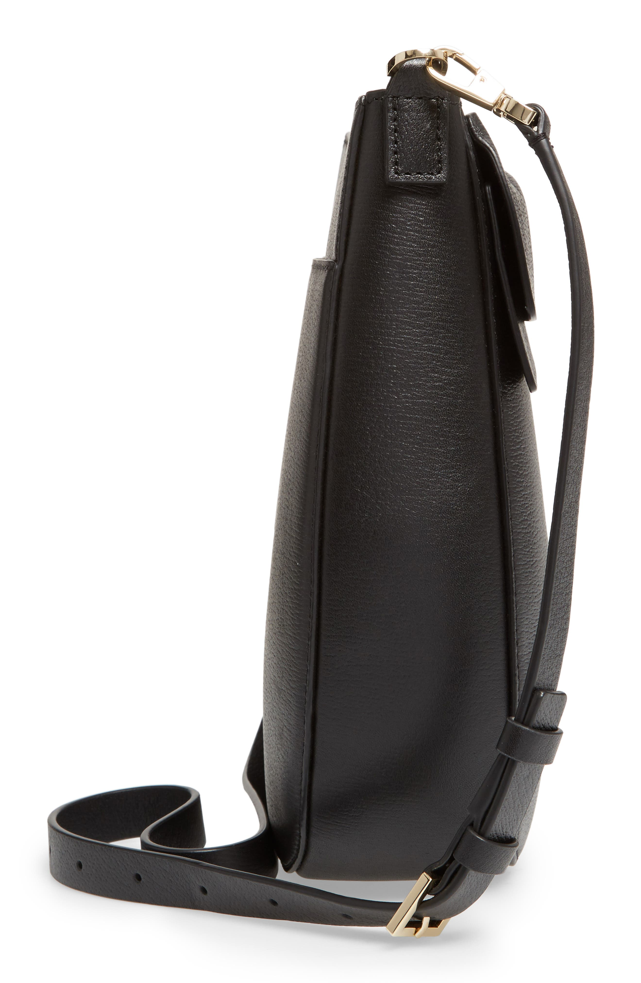 olive drive - robin leather crossbody bag,                             Alternate thumbnail 9, color,