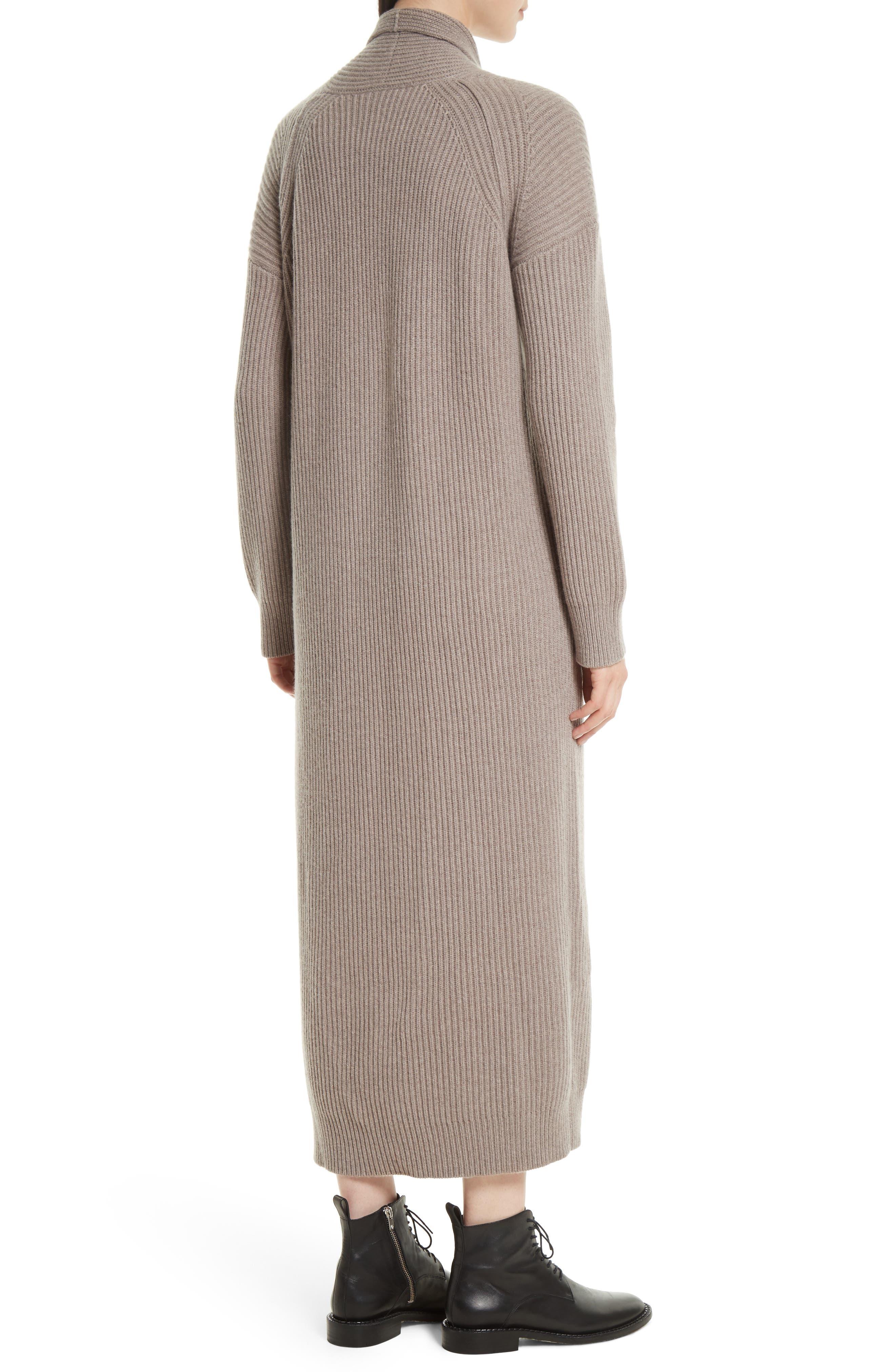 VINCE,                             Long Knit Sweater Robe,                             Alternate thumbnail 2, color,                             260