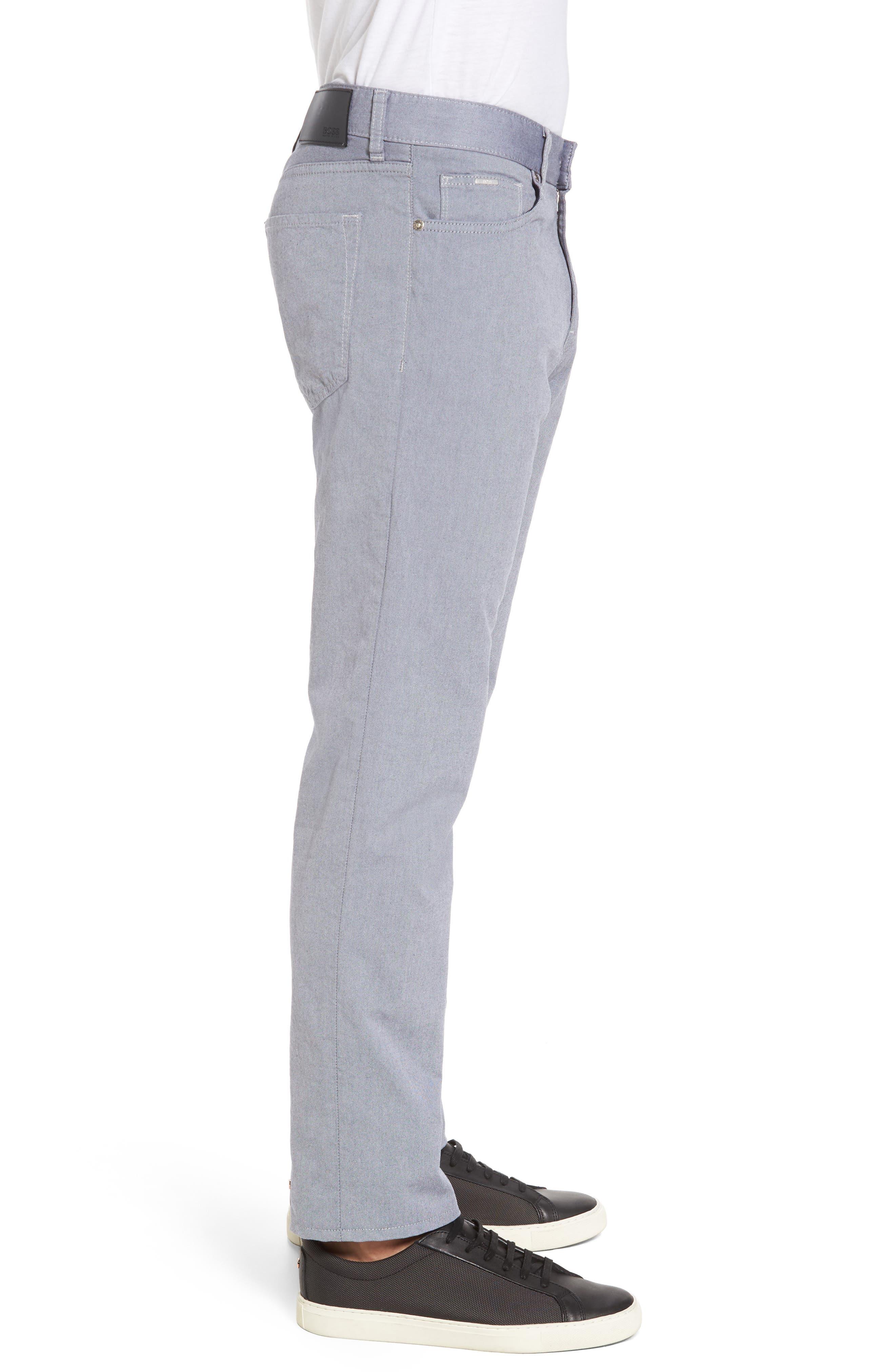 Slim Fit Twill Pants,                             Alternate thumbnail 3, color,
