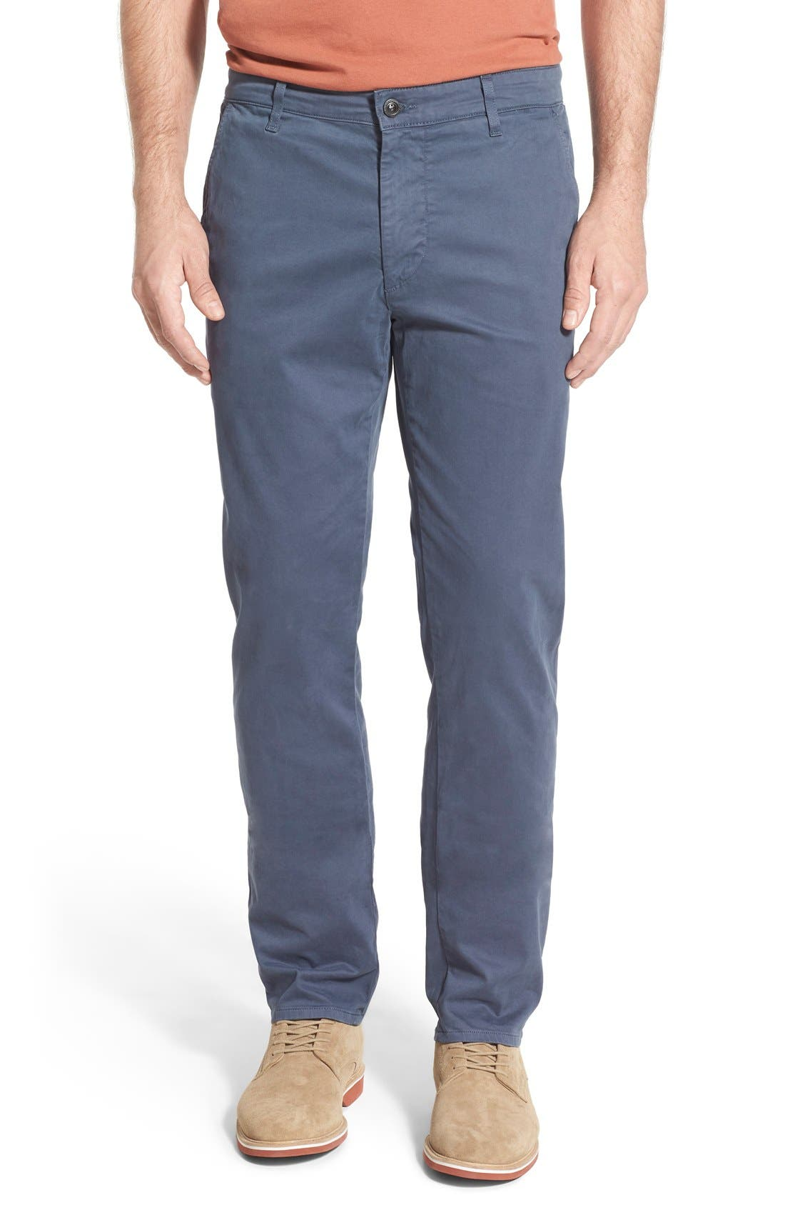 'The Lux' Tailored Straight Leg Chinos,                             Main thumbnail 8, color,