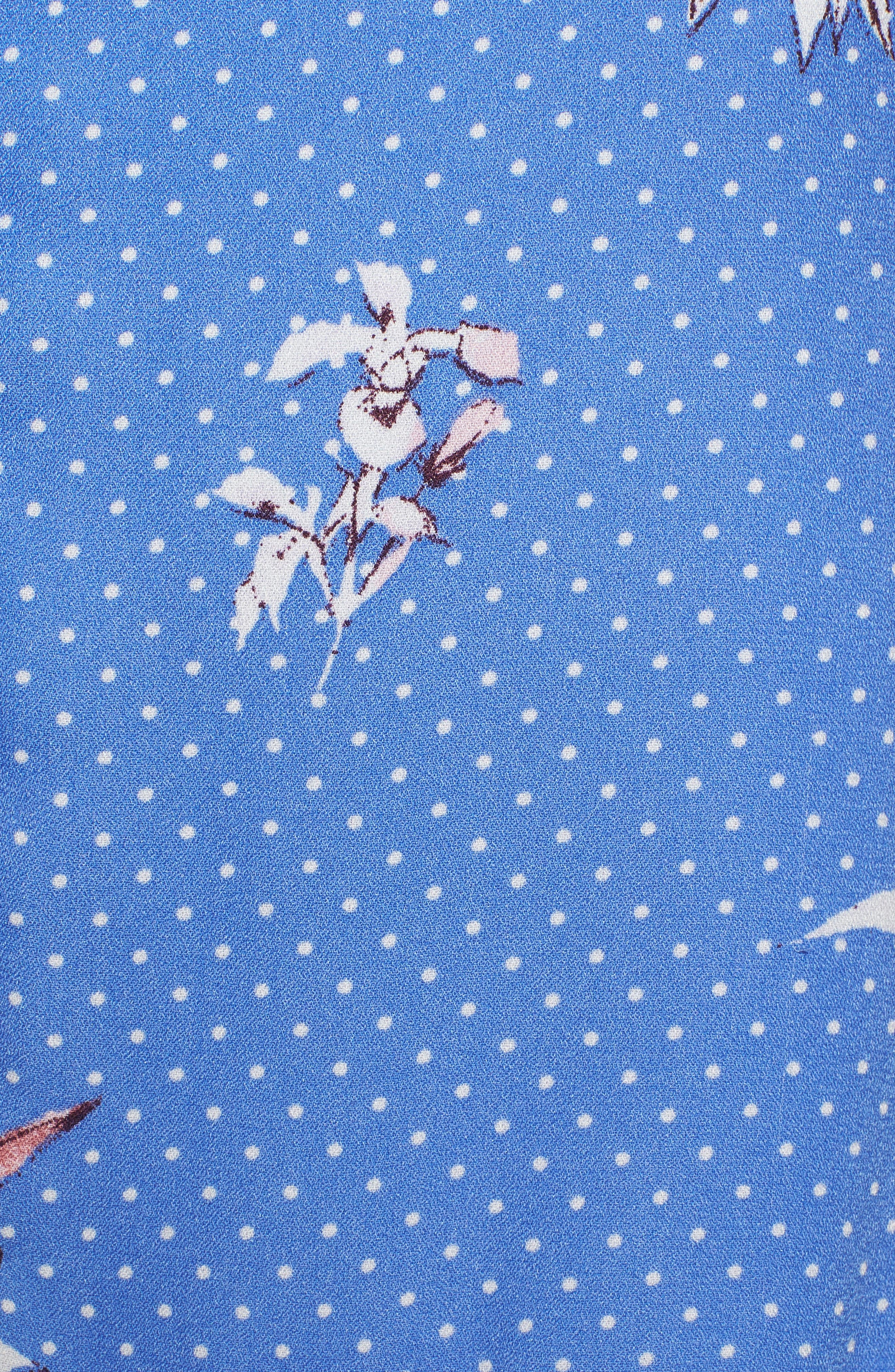 Vanessa Ruffle Hem Skirt,                             Alternate thumbnail 5, color,                             430