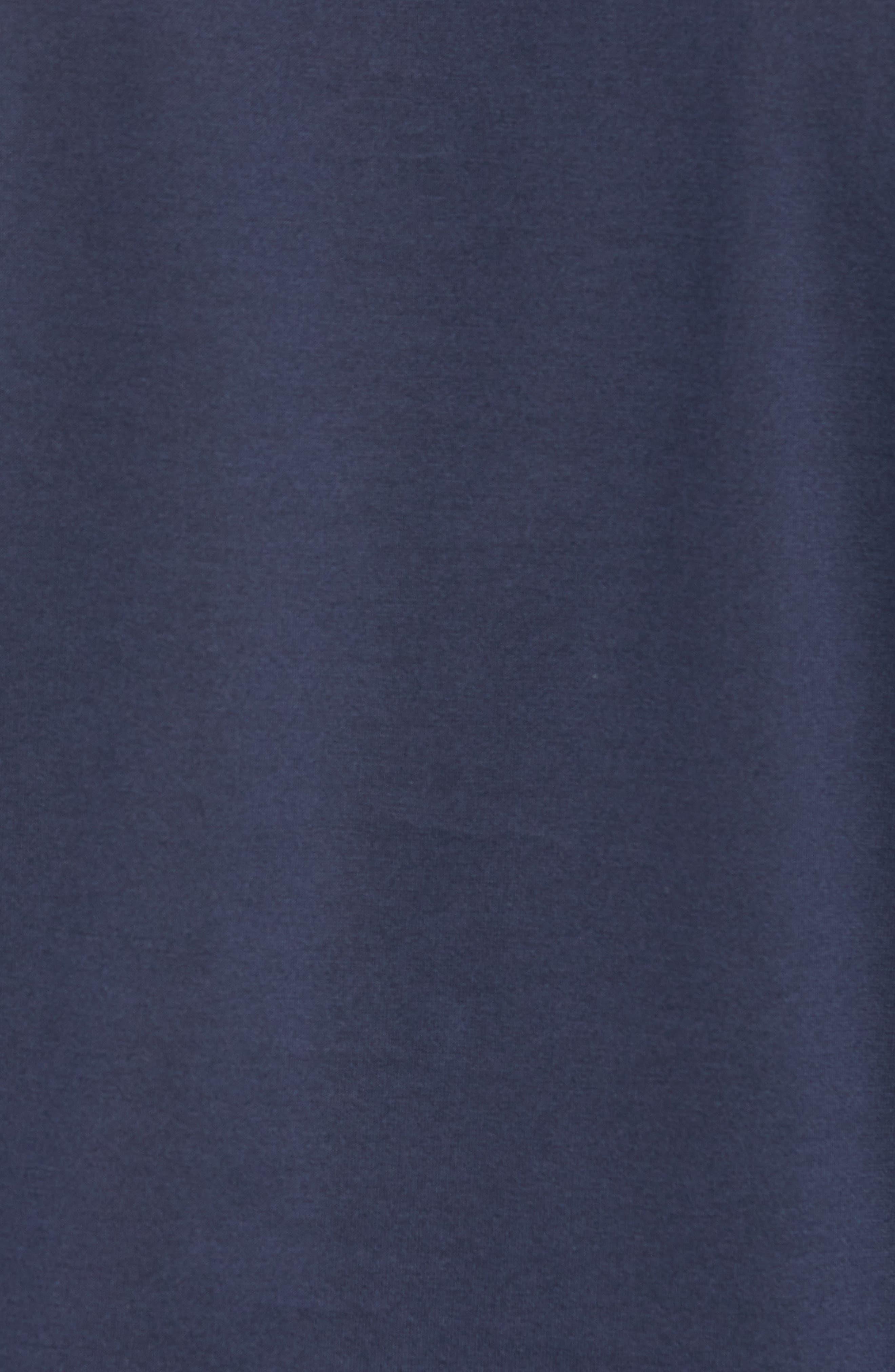 Dalendar Mercerized Cotton Slim Fit Polo Shirt,                             Alternate thumbnail 5, color,                             BLUE