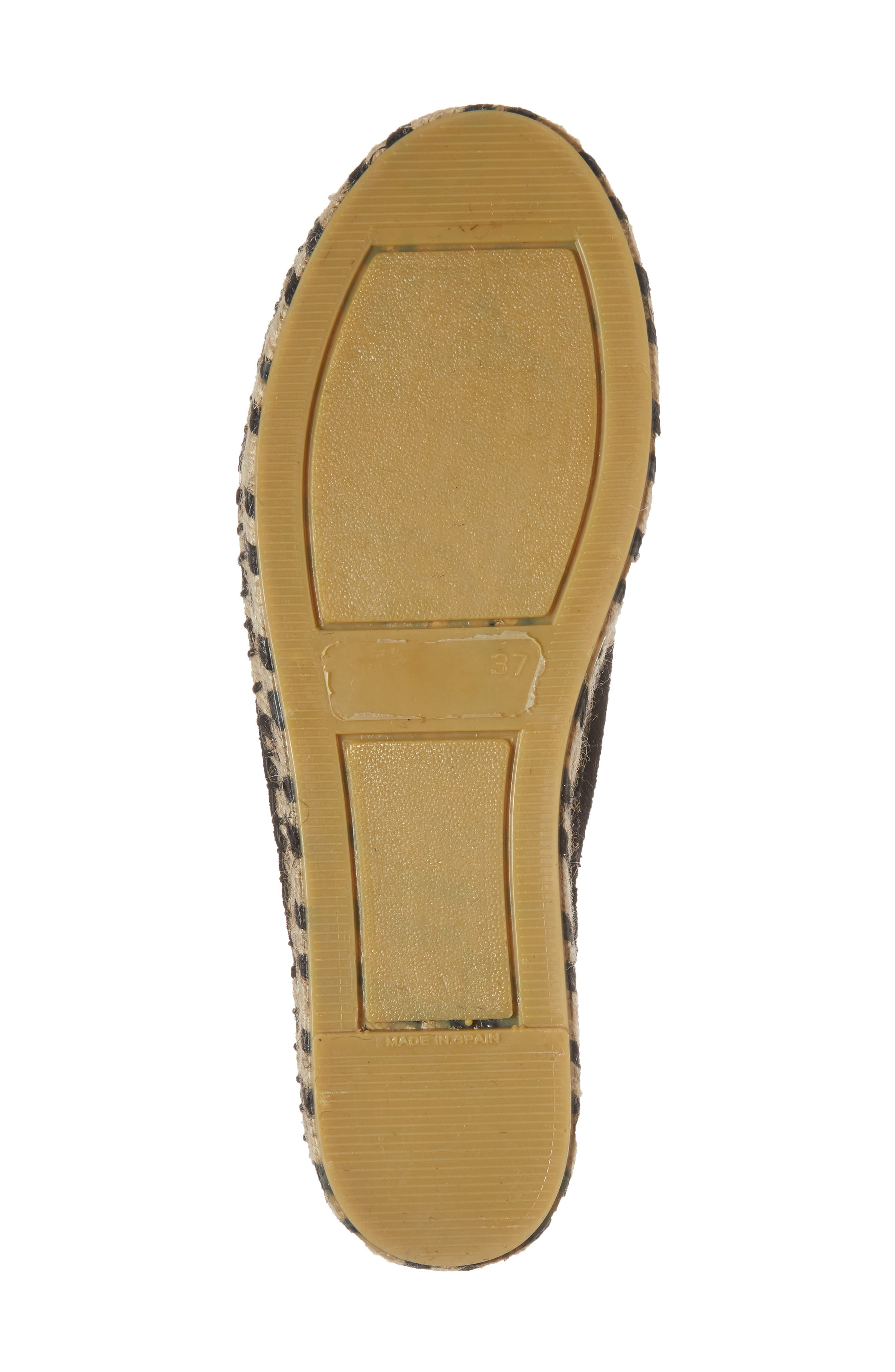 Tuscan Slip-On Espadrille Sandal,                             Alternate thumbnail 6, color,                             001
