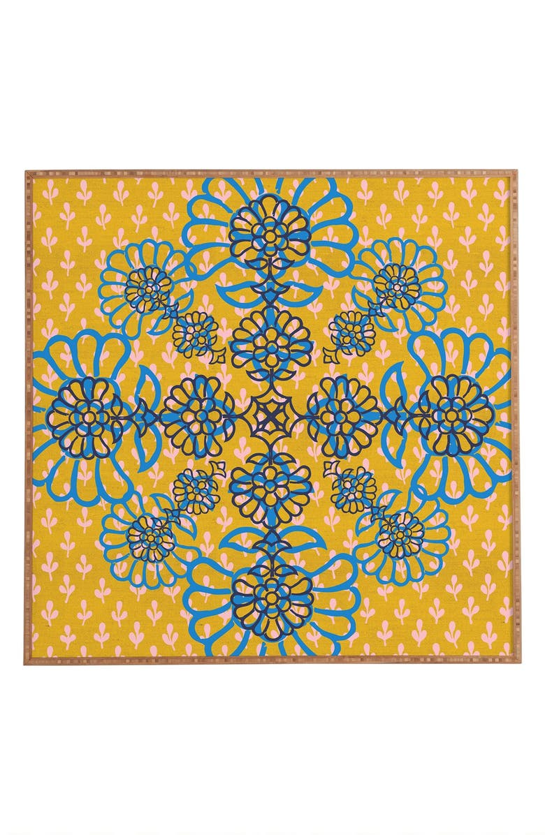 Deny Designs \'Sweet Saffron\' Framed Wall Art | Nordstrom