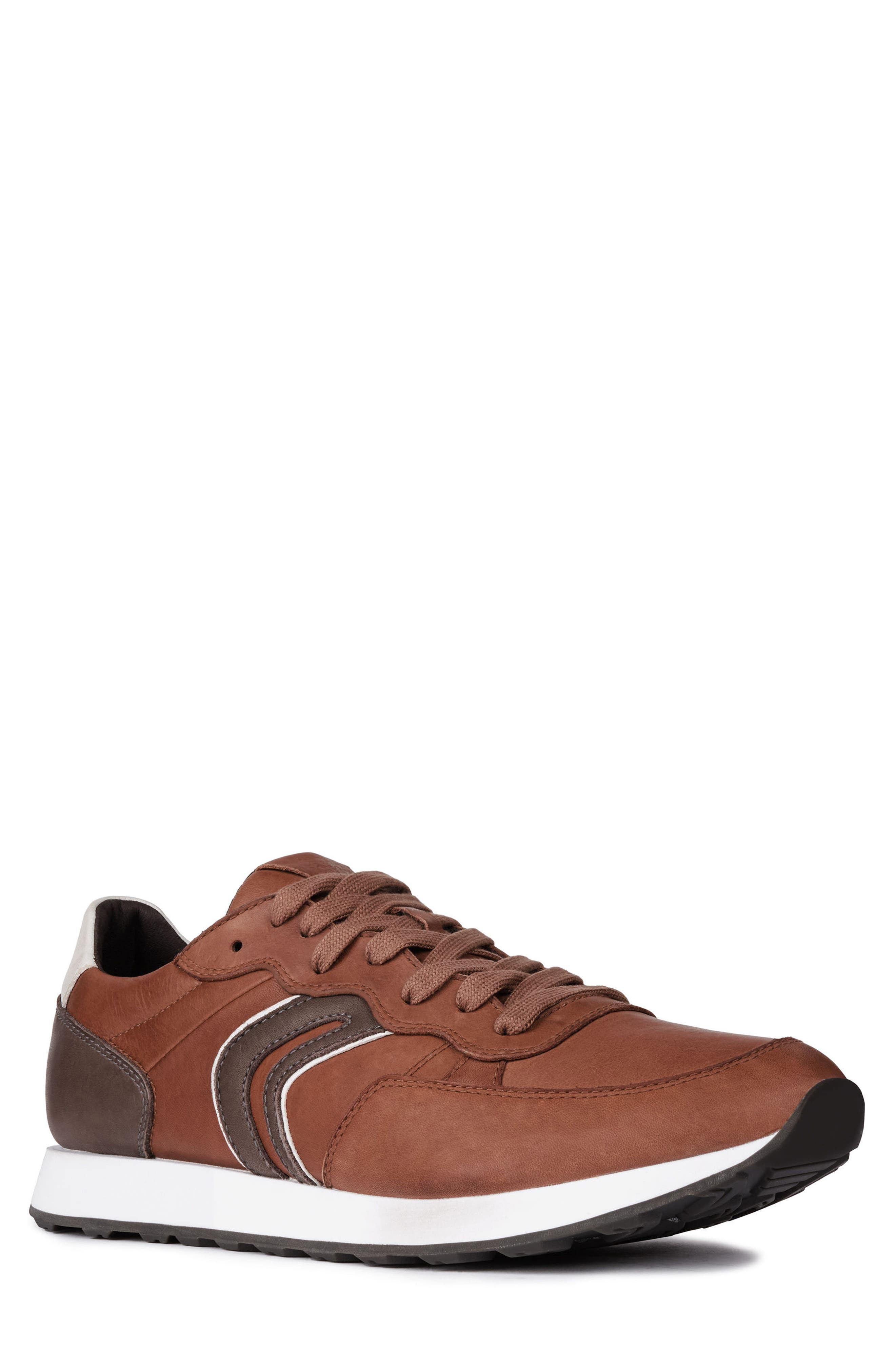 Geox Vincint 1 Sneaker, Brown