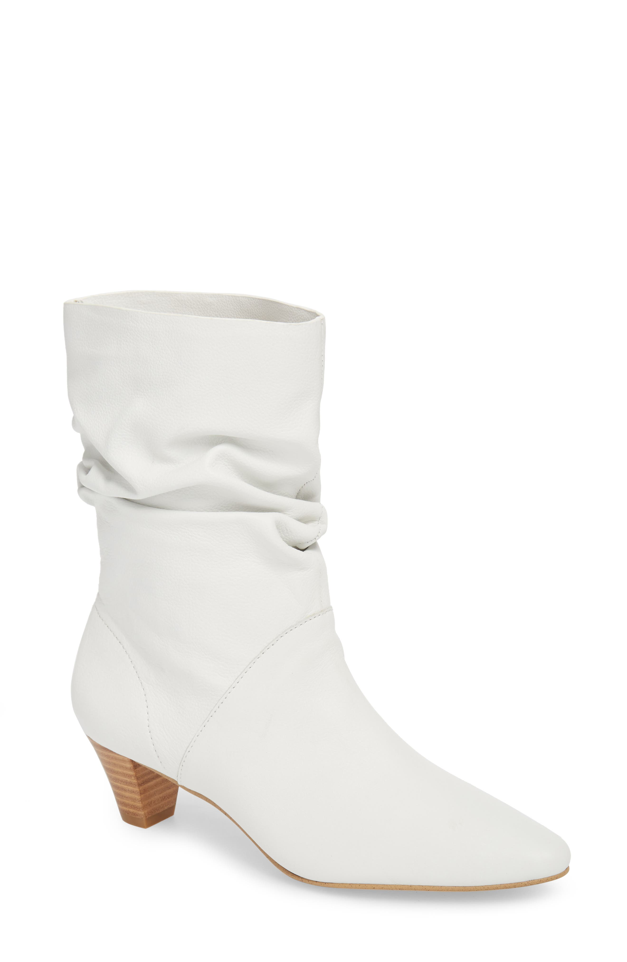 Nica Slouchy Boot,                         Main,                         color, SNOW WHITE LEATHER