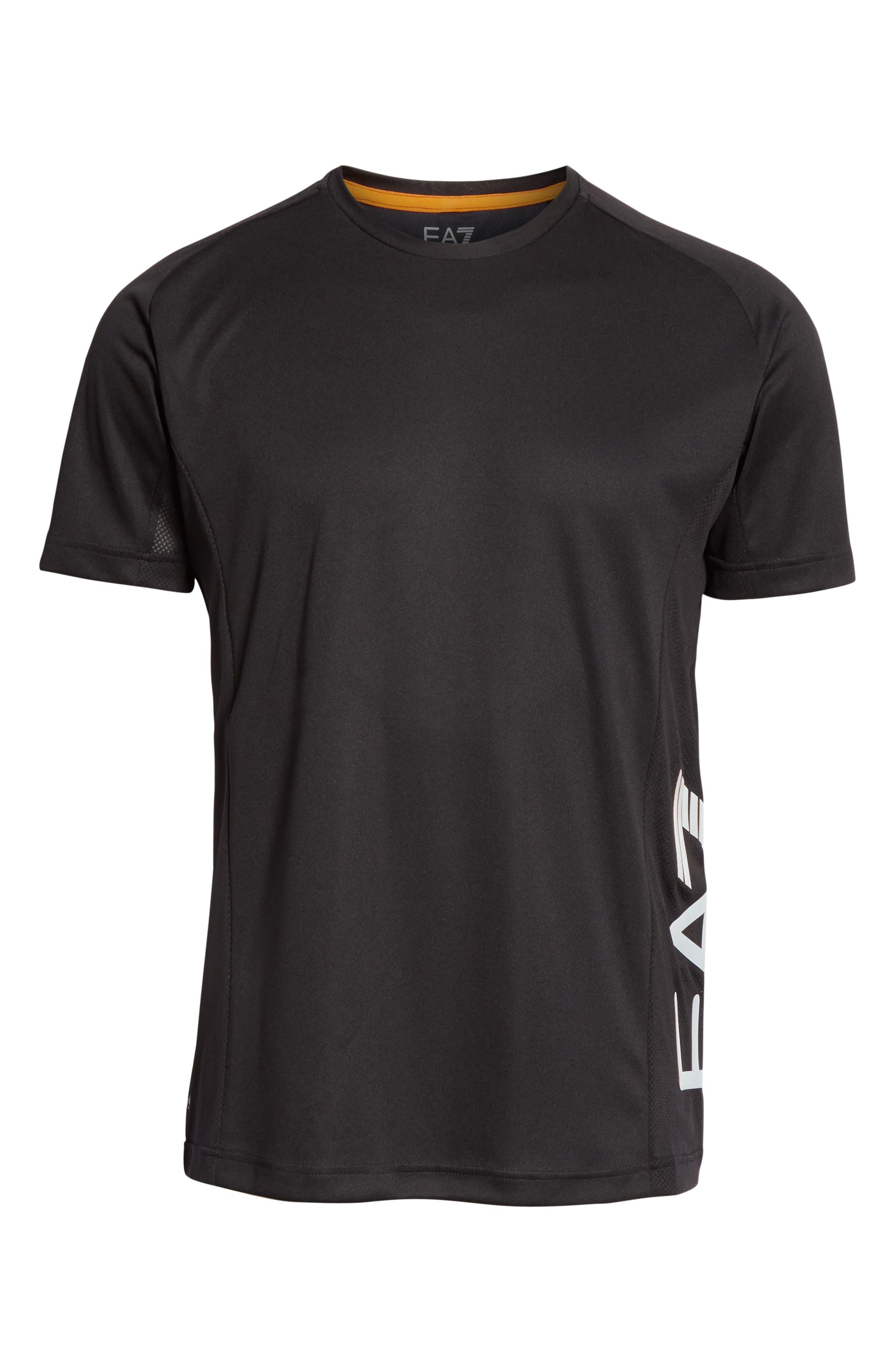Ventus Crewneck T-Shirt,                             Alternate thumbnail 5, color,                             BLACK