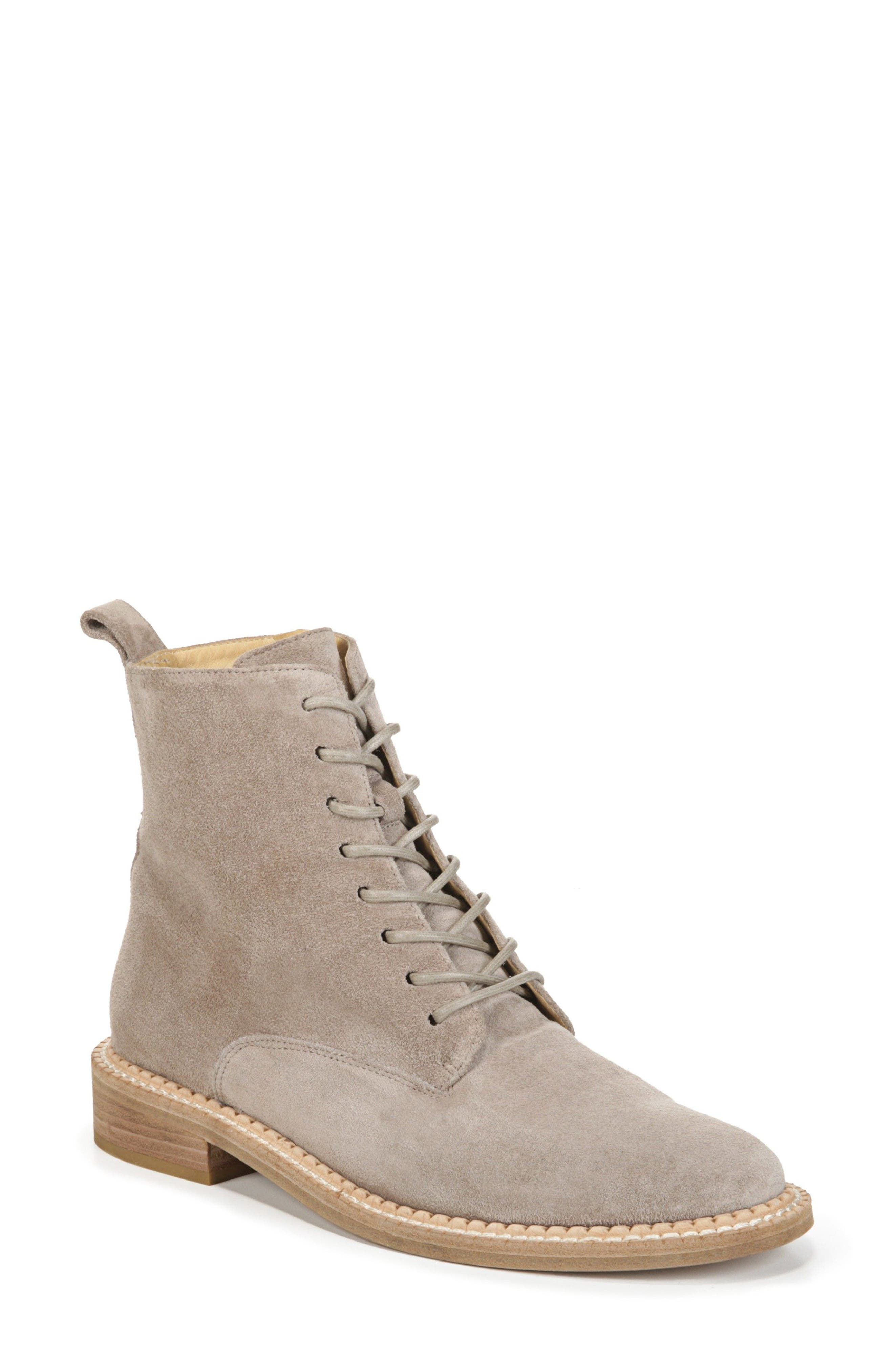 Cabria Lace-Up Boot,                         Main,                         color, LIGHT WOODSMOKE