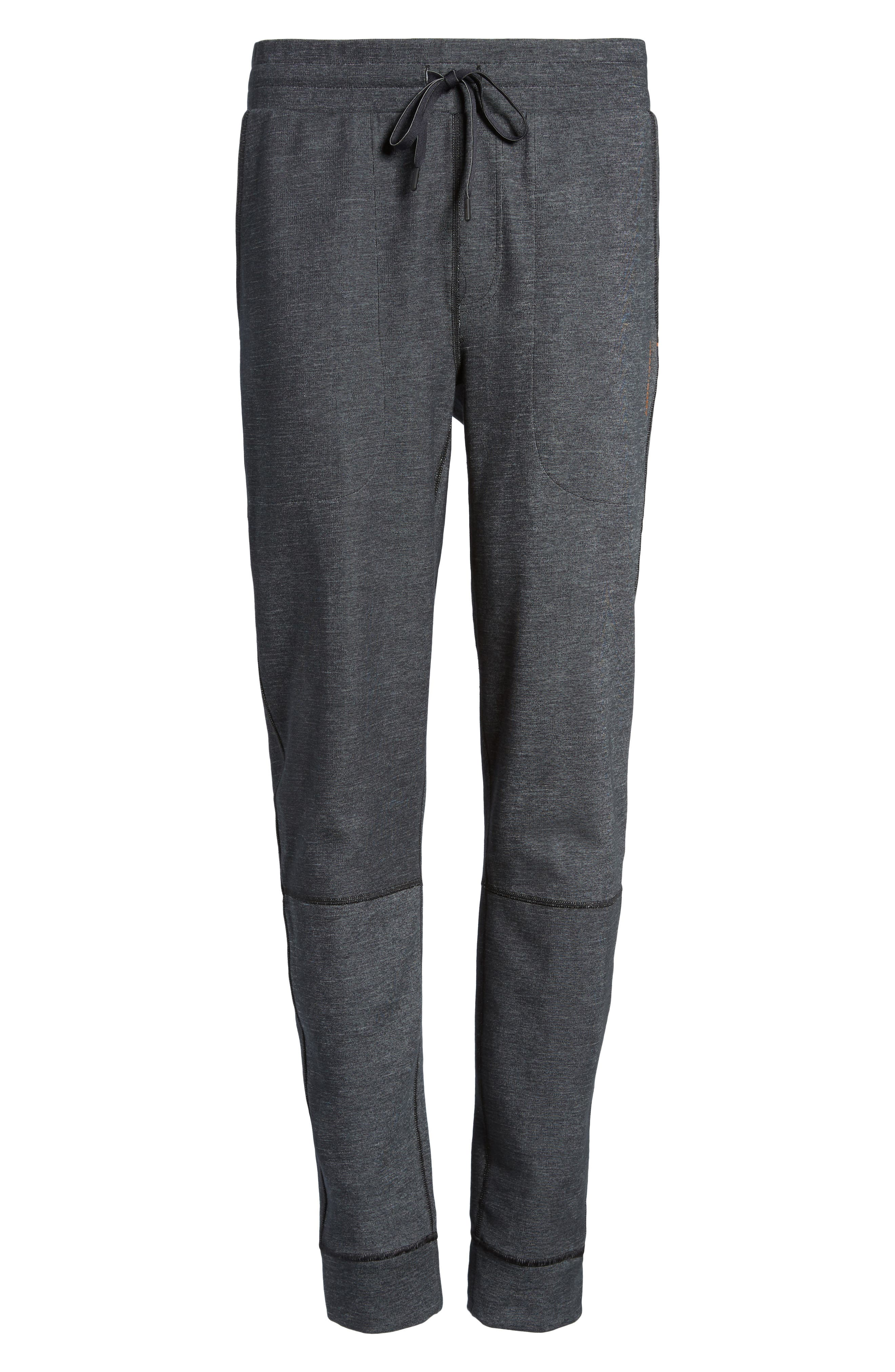 Slim Fit Fusion Jogger Pants,                             Alternate thumbnail 6, color,                             001