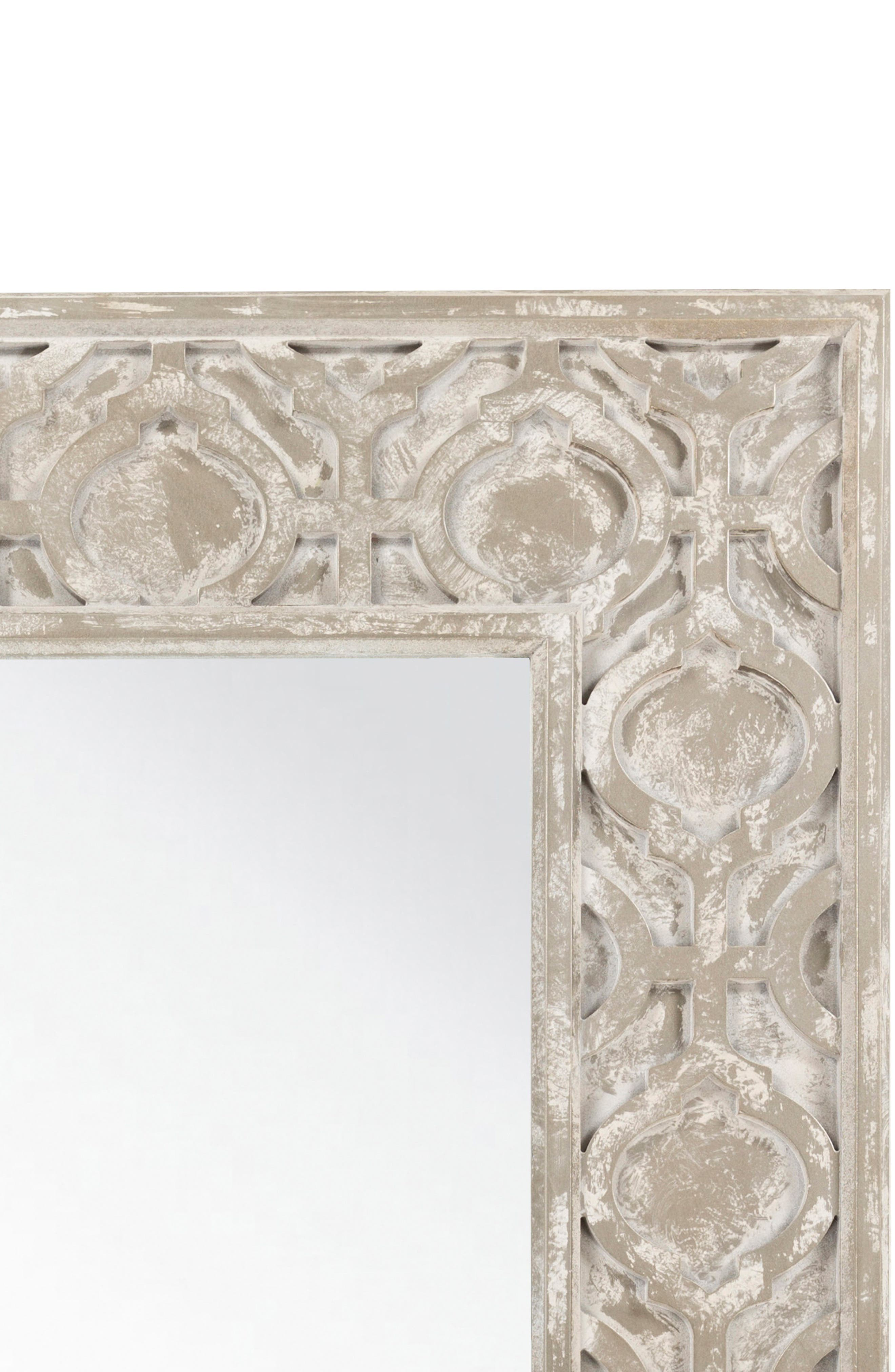 White Wash Mirror,                             Alternate thumbnail 2, color,                             250