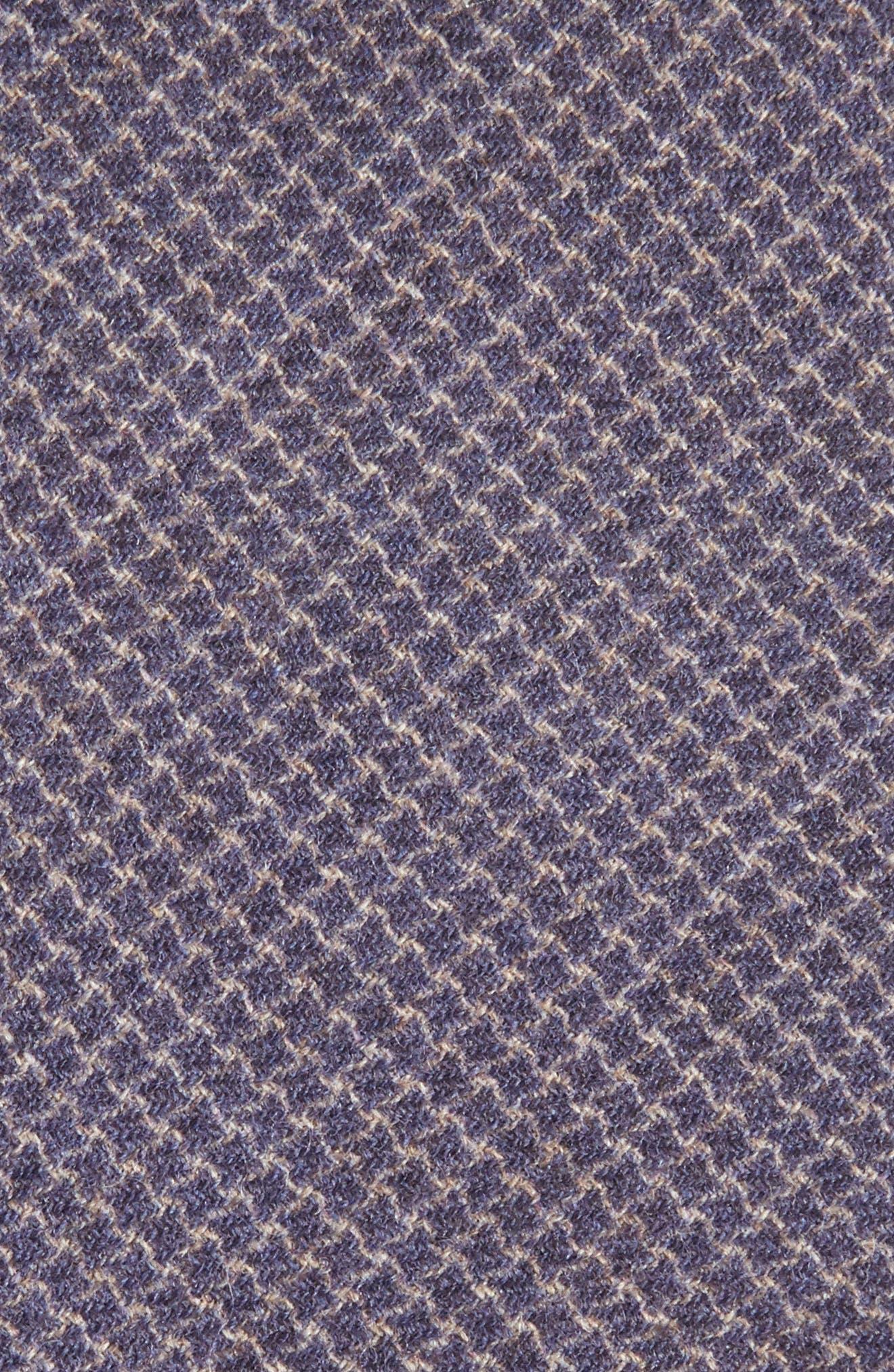 Geometric Wool Tie,                             Alternate thumbnail 6, color,