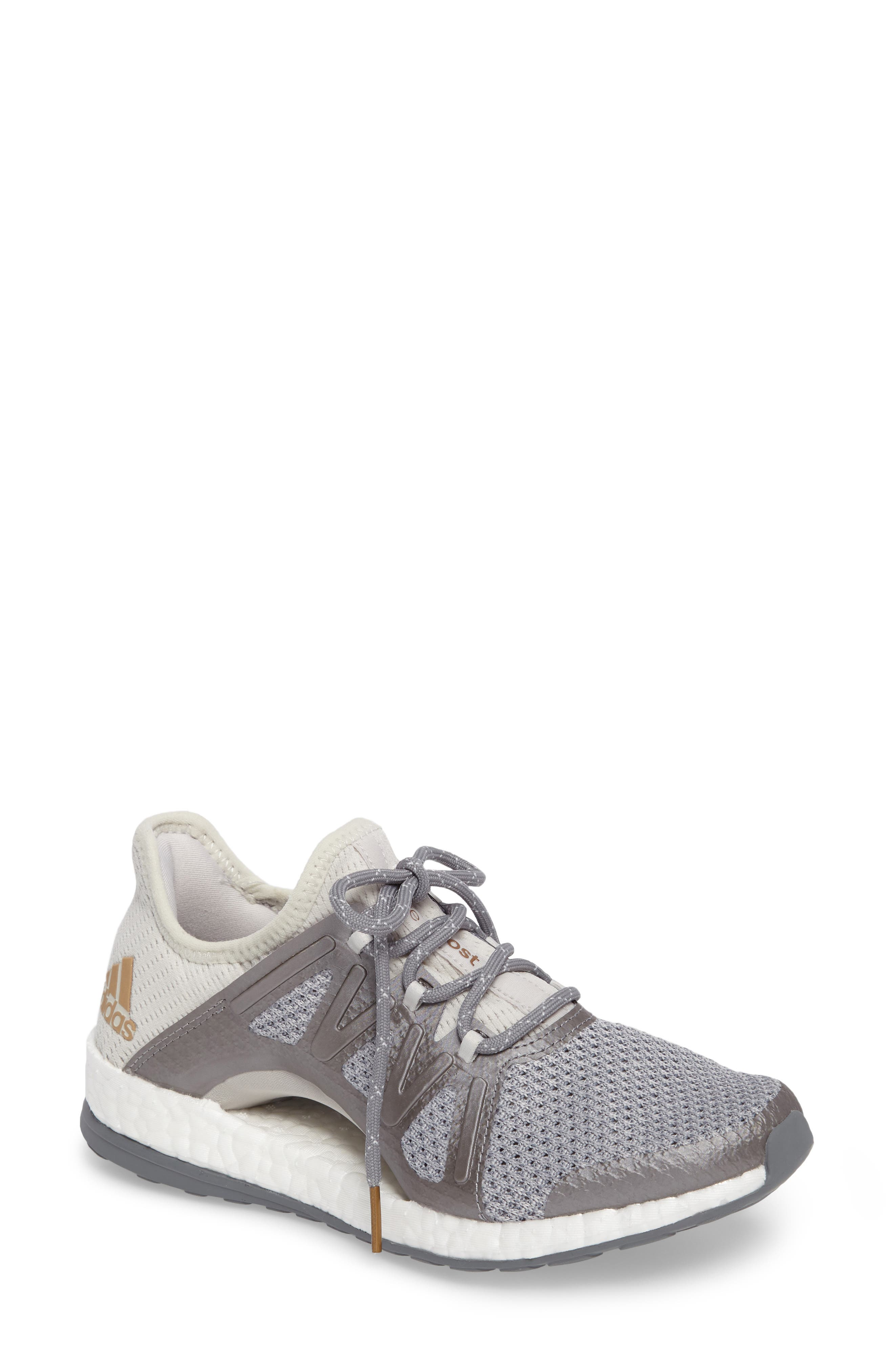 PureBOOST Xpose Running Shoe,                             Main thumbnail 3, color,