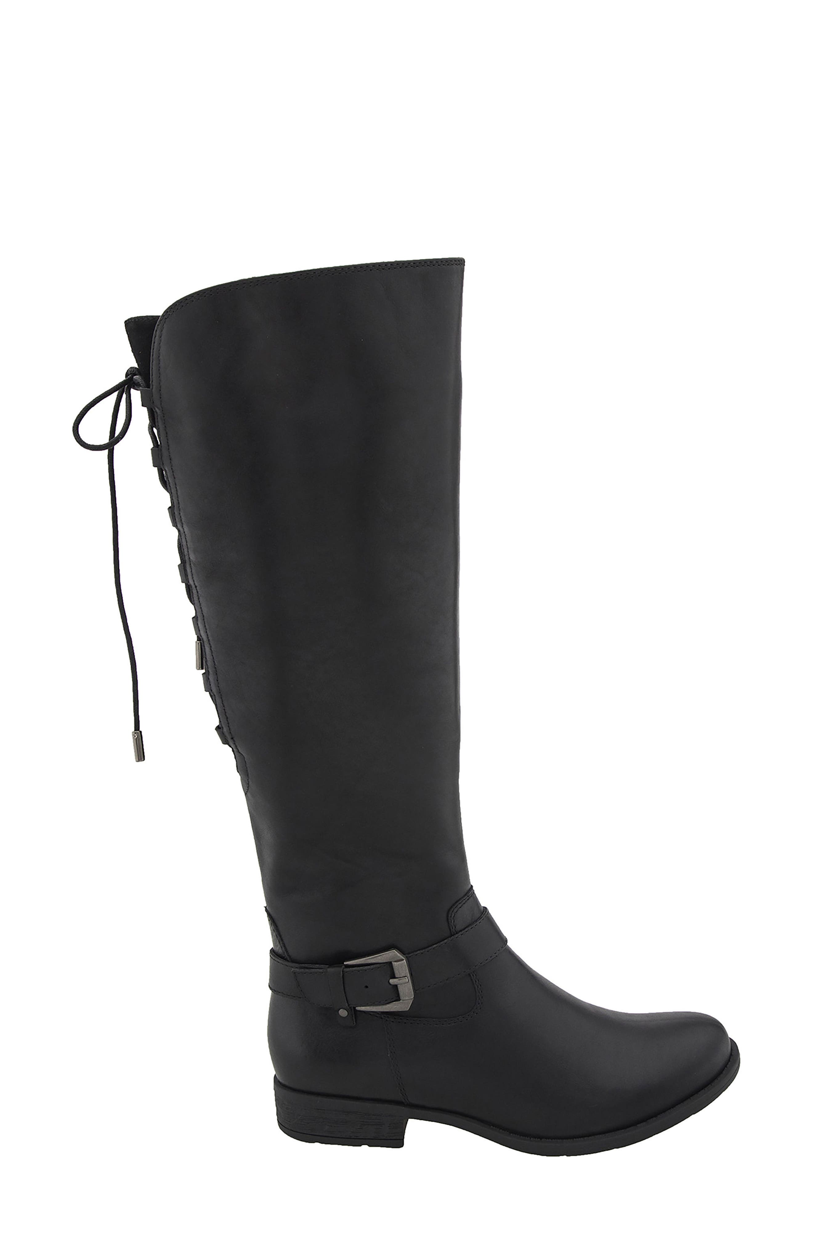 Raleigh Tall Waterproof Boot,                             Alternate thumbnail 3, color,                             015