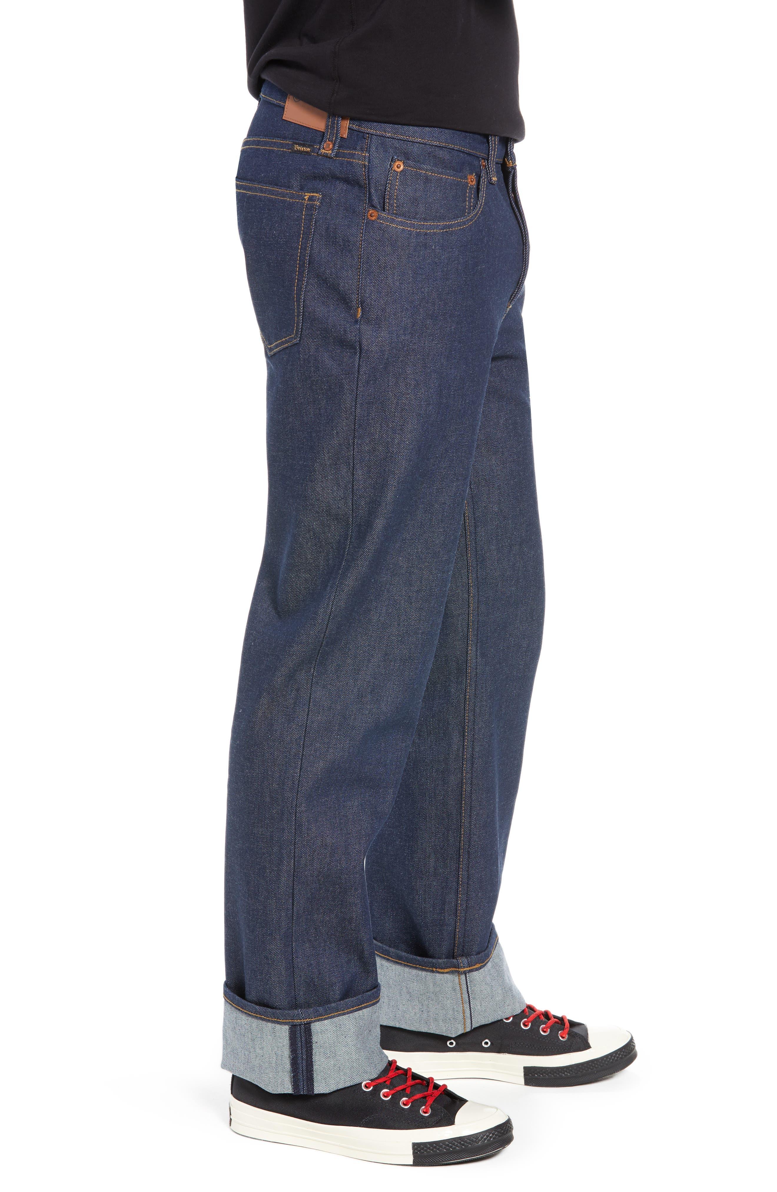 Labor Straight Leg Jeans,                             Alternate thumbnail 3, color,                             400