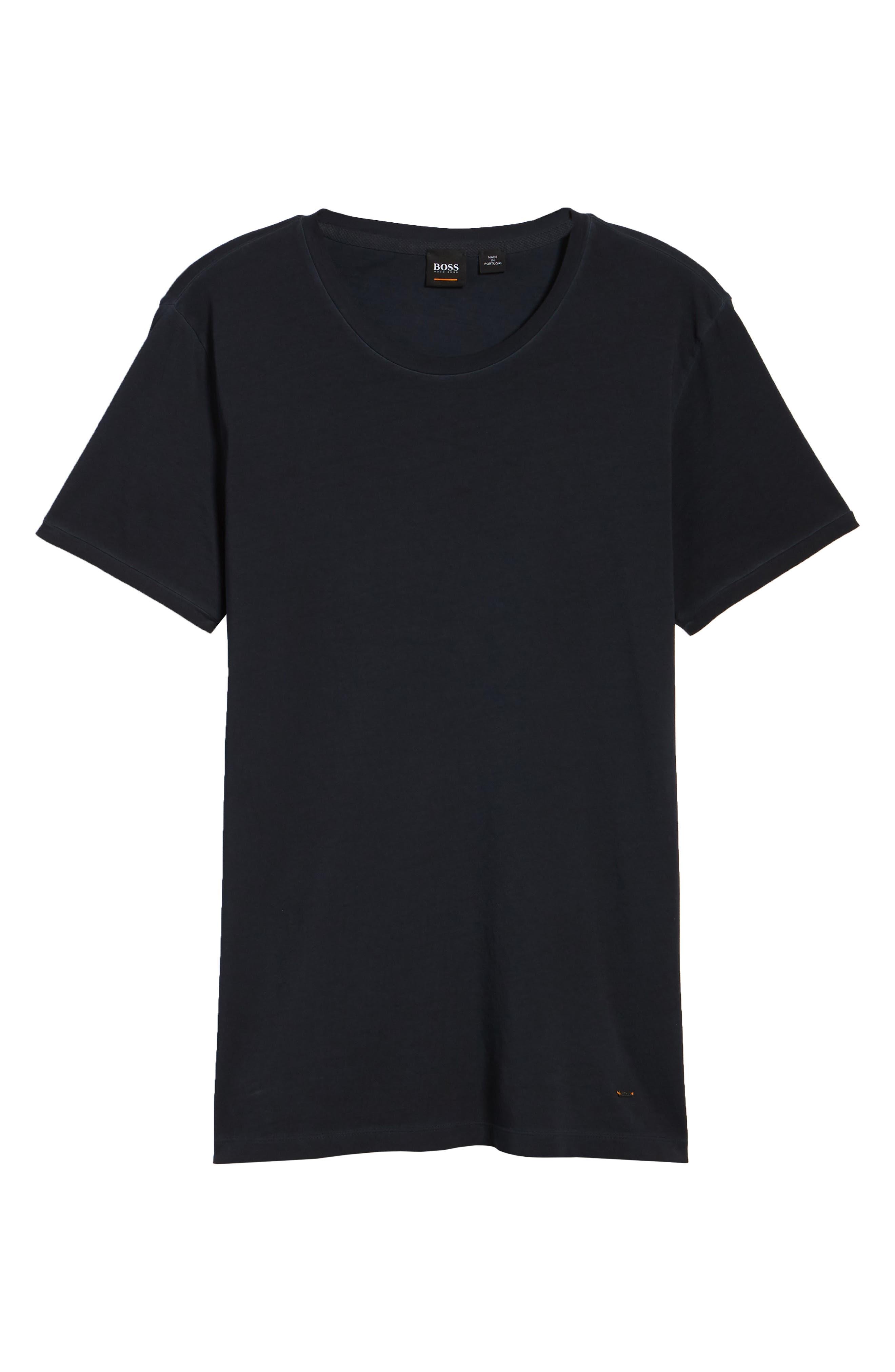 Troy Crewneck T-Shirt,                             Alternate thumbnail 12, color,