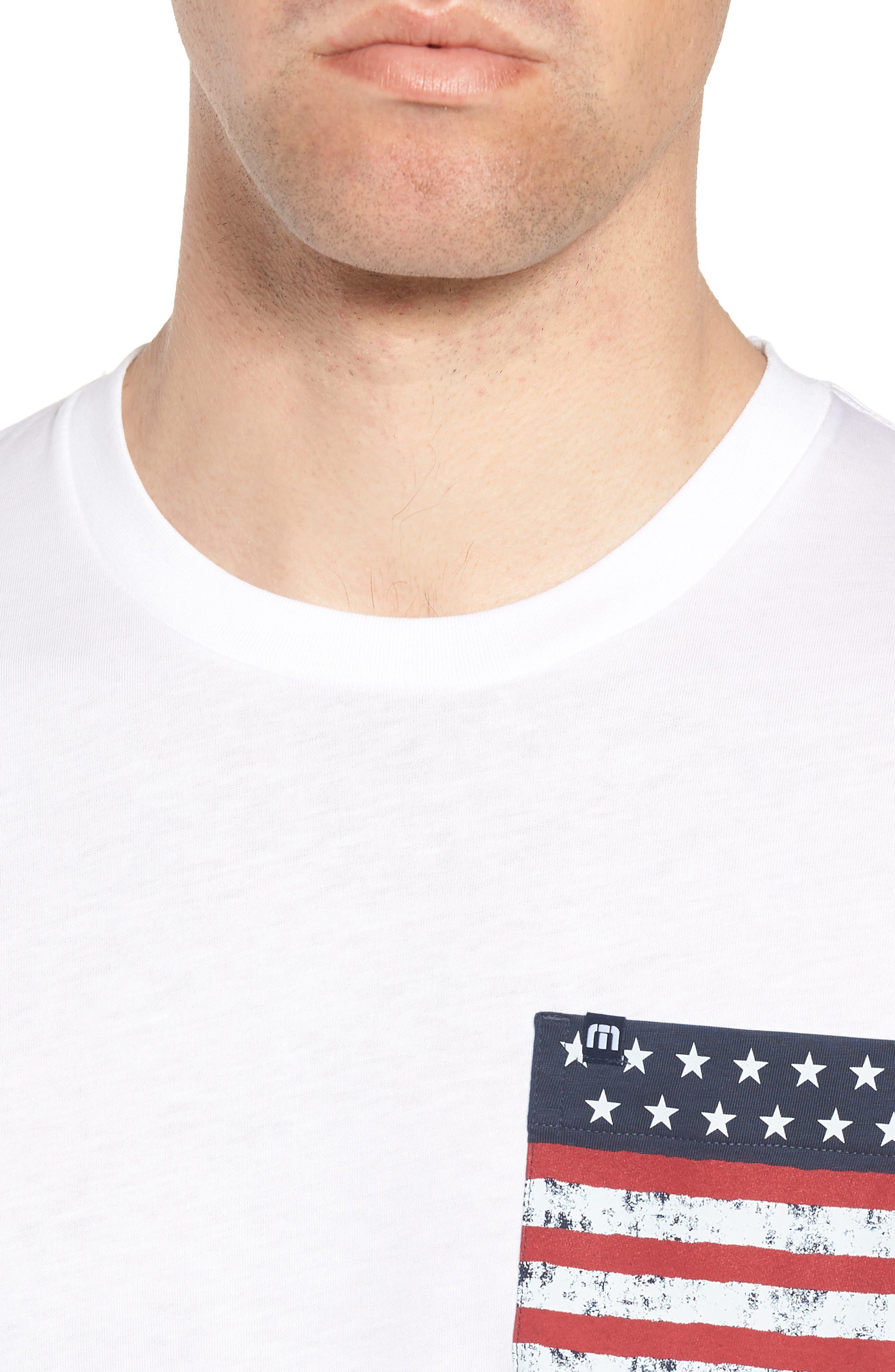 Chocolate Barrels Crewneck T-Shirt,                             Alternate thumbnail 4, color,                             100