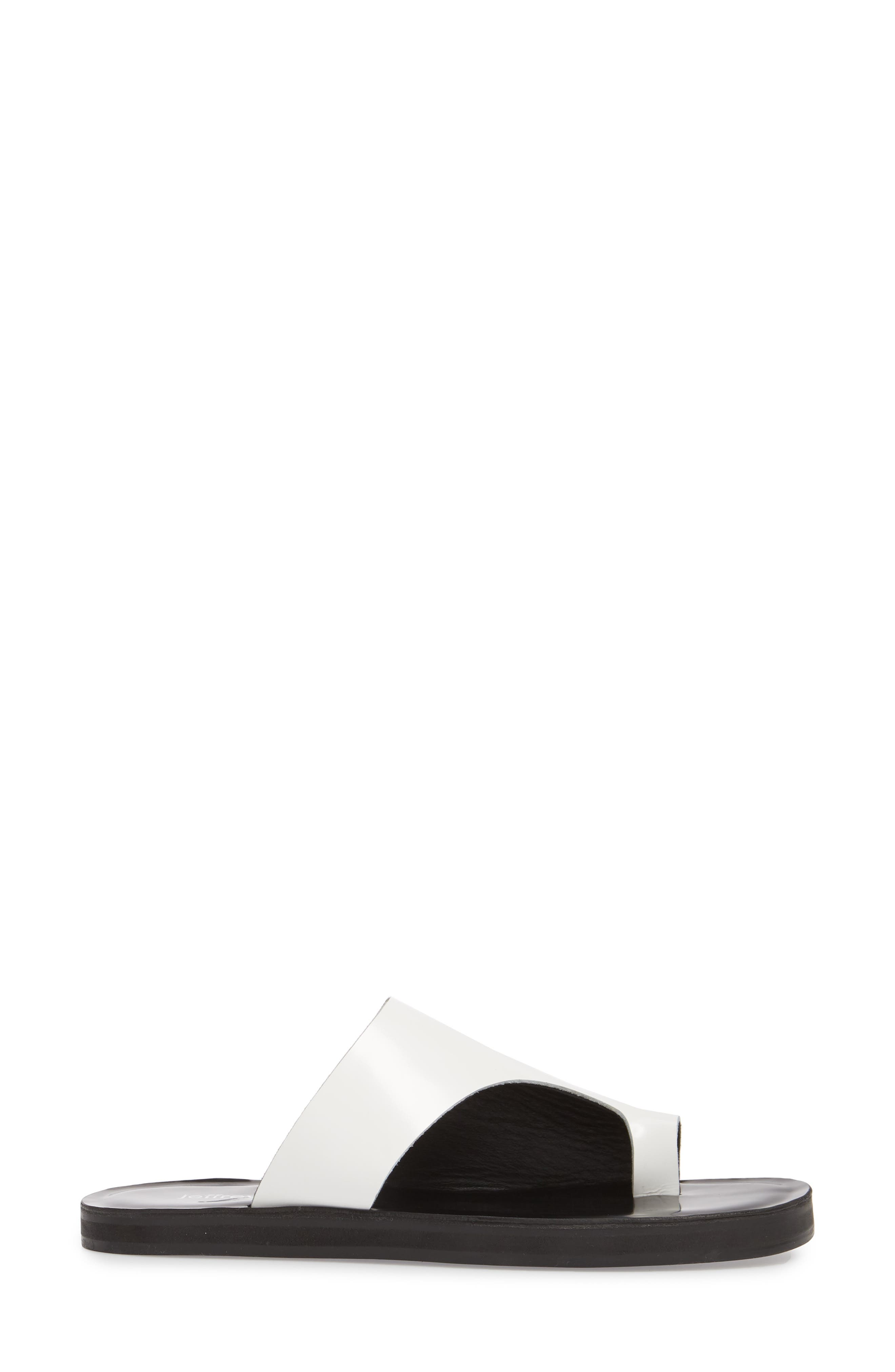 Morada Asymmetrical Slide Sandal,                             Alternate thumbnail 3, color,                             107