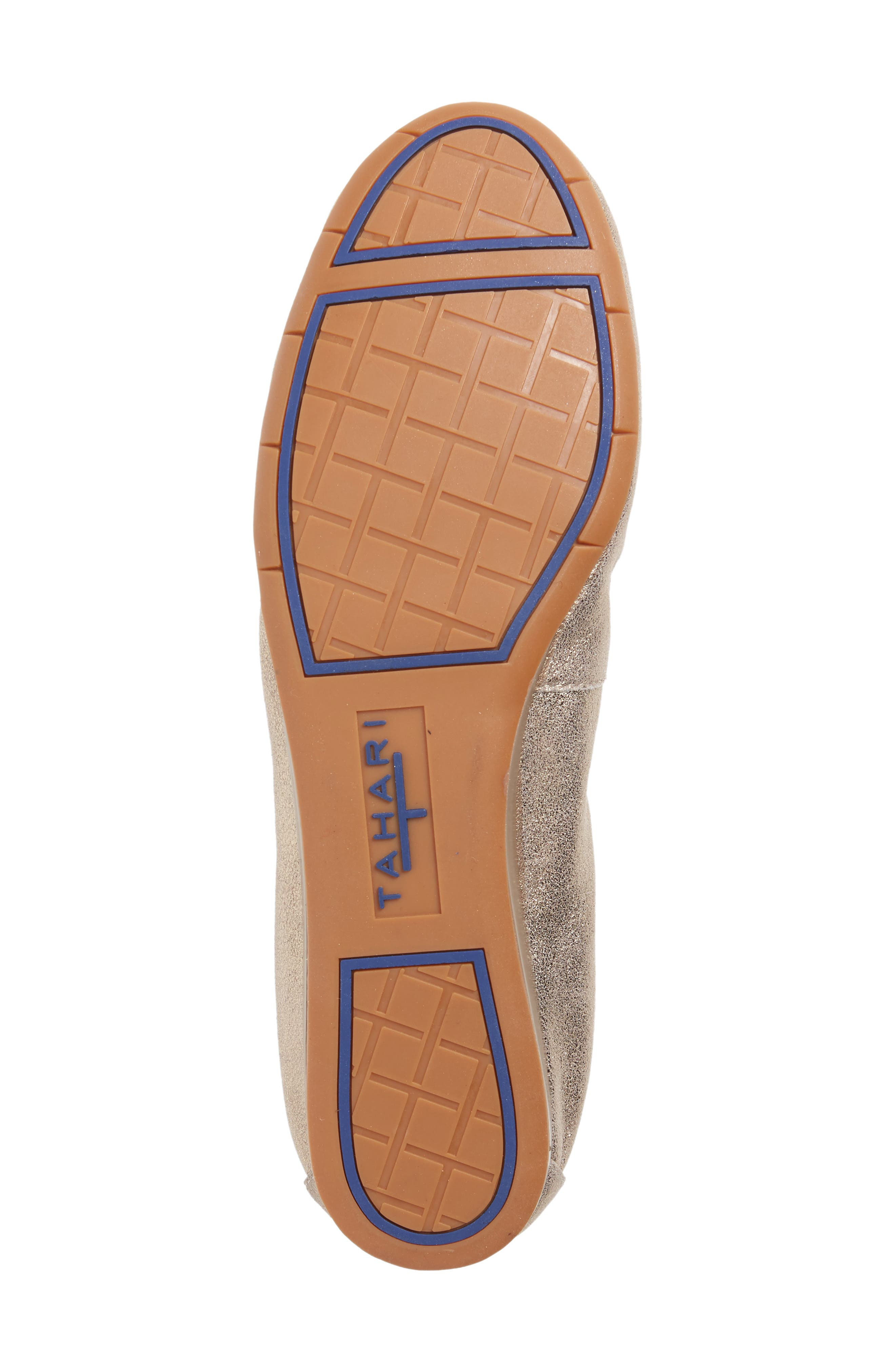 Helena Flat,                             Alternate thumbnail 6, color,                             TAUPE NUBUCK LEATHER