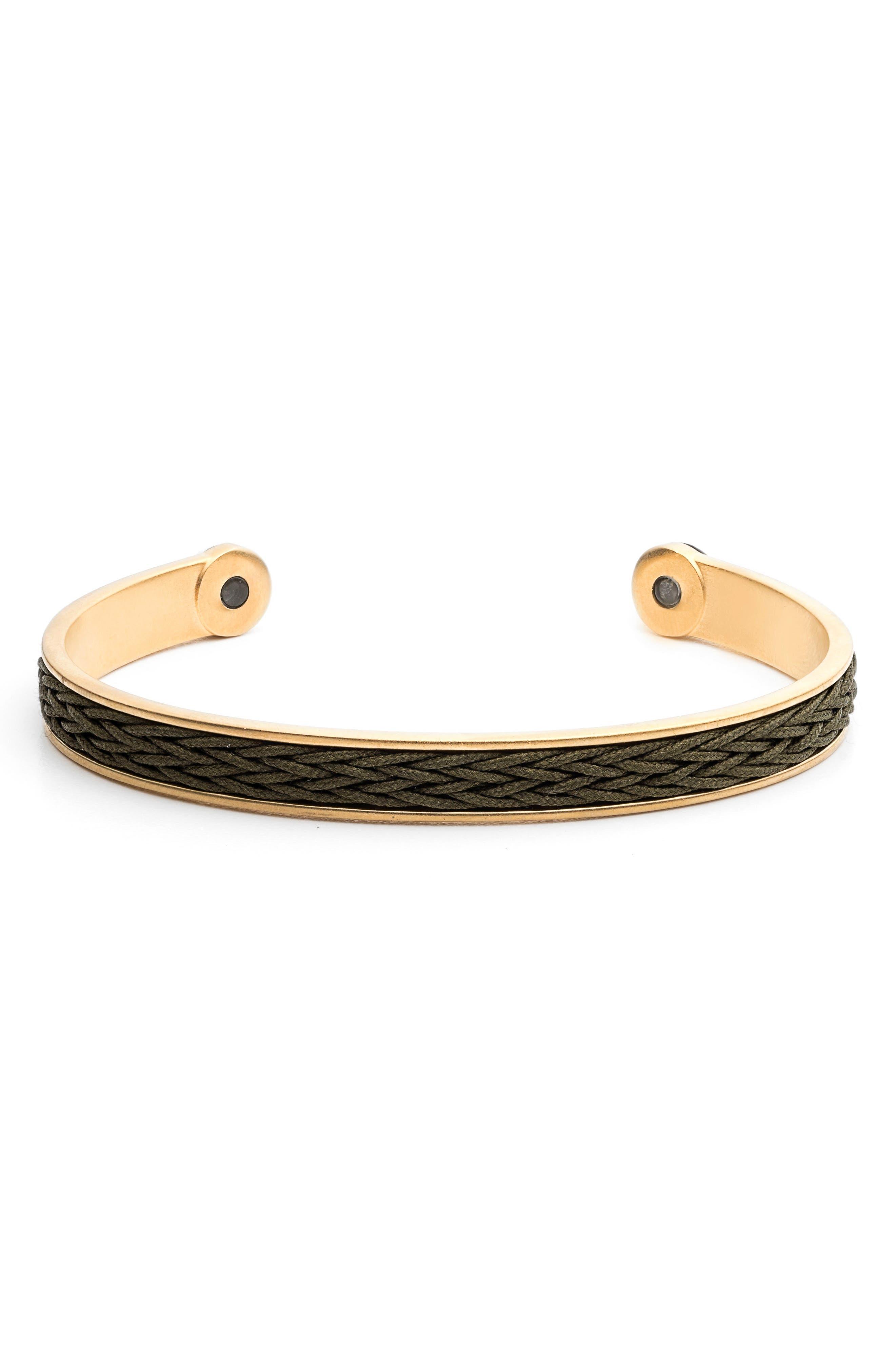 Braided Cuff Bracelet,                             Main thumbnail 4, color,