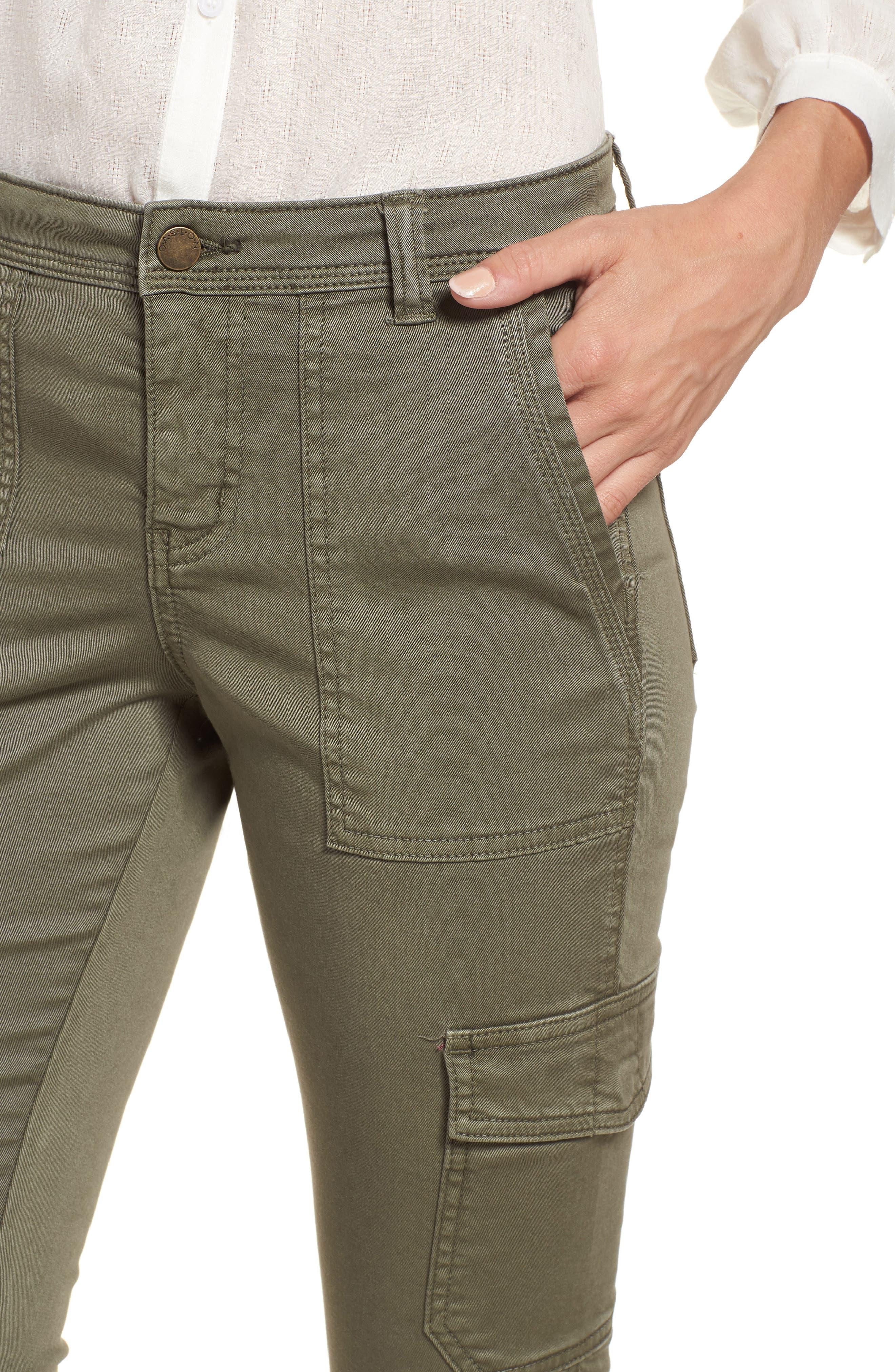Utility Pants,                             Alternate thumbnail 4, color,                             GREEN BEETLE