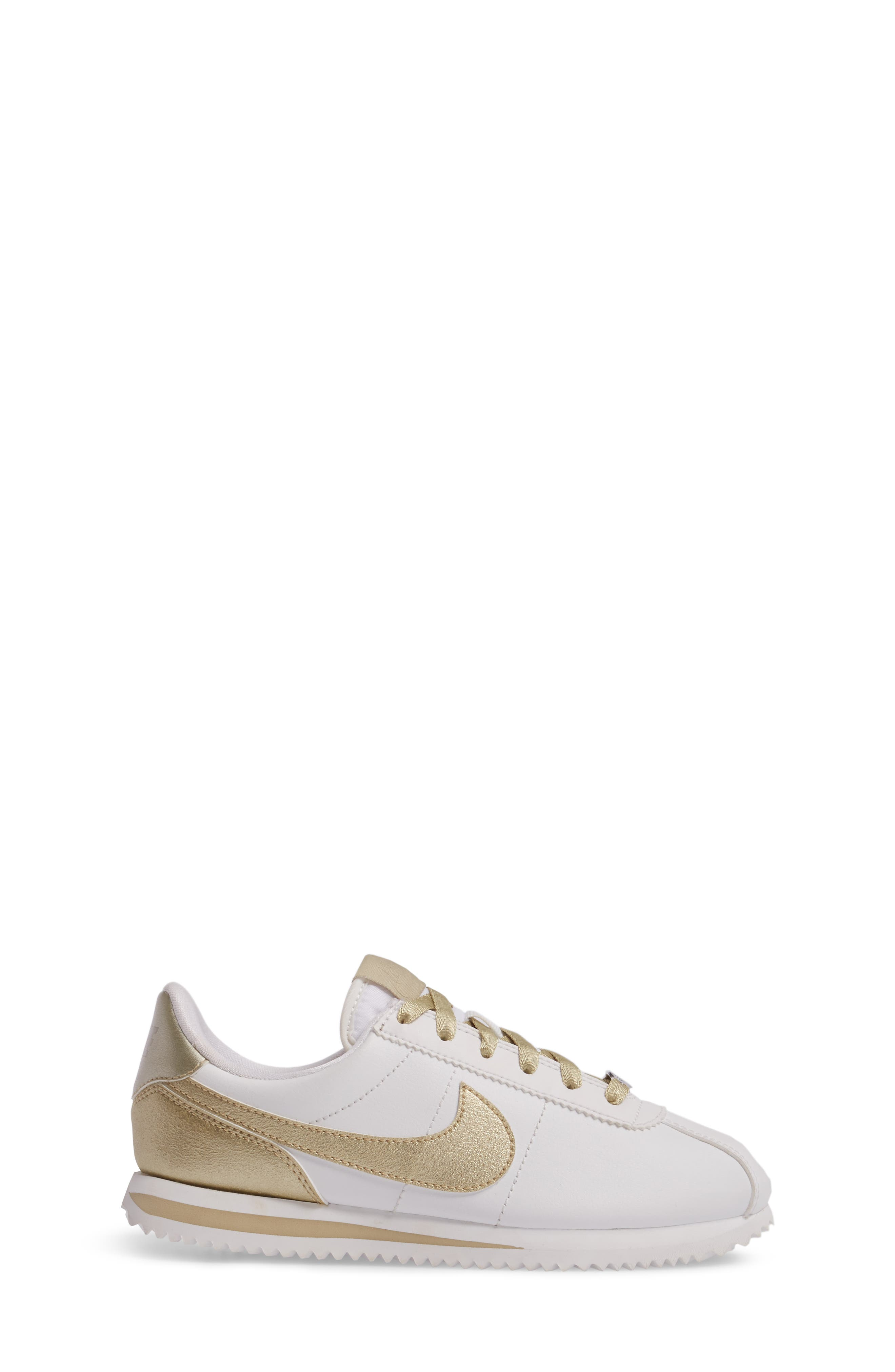 Cortez Basic SE Sneaker,                             Alternate thumbnail 3, color,                             101