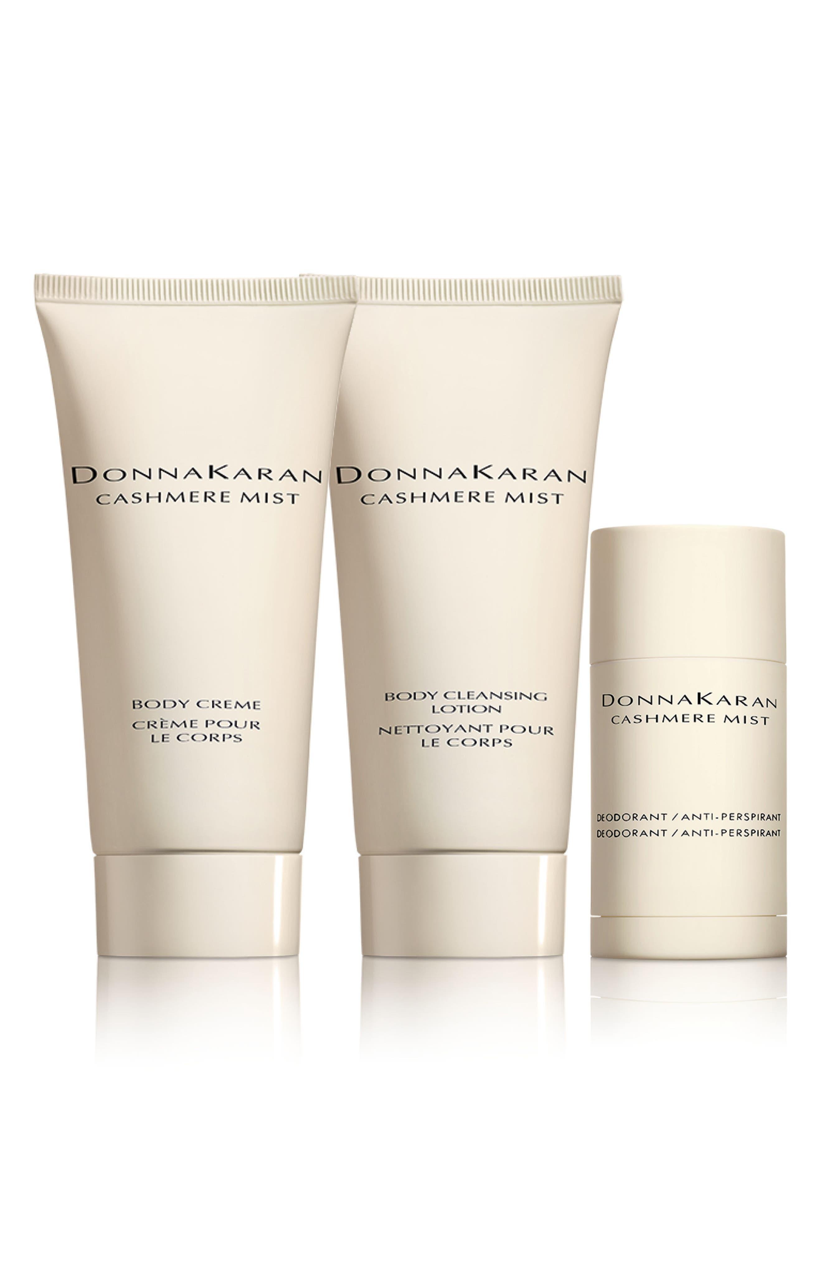 Donna Karan Cashmere Mist Skin Care Set,                             Main thumbnail 1, color,                             000