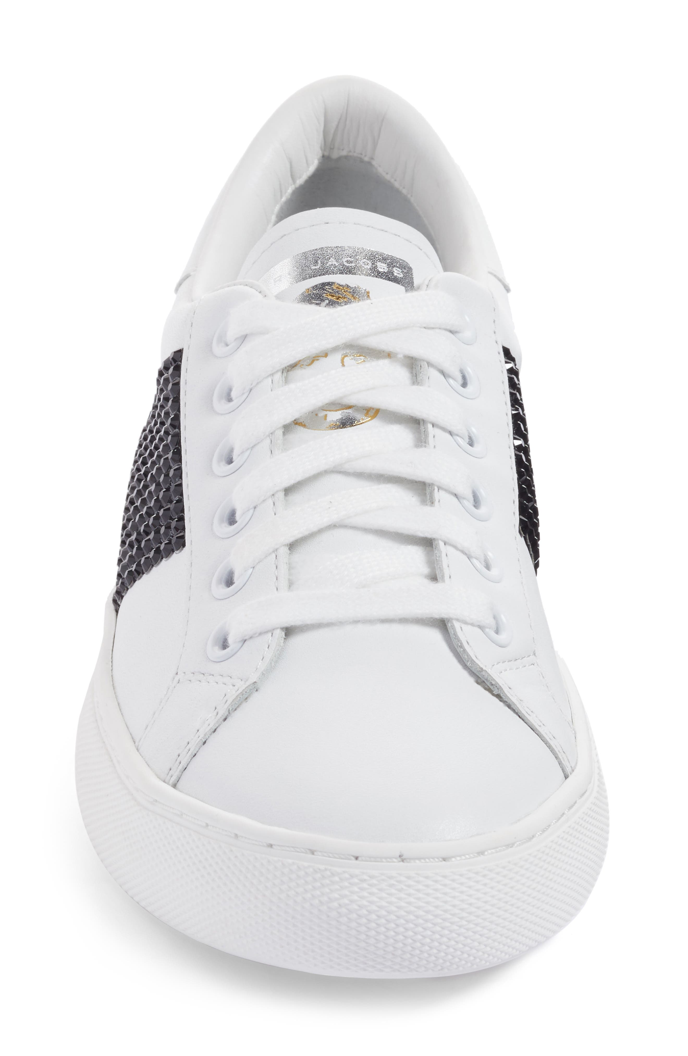 Empire Embellished Sneaker,                             Alternate thumbnail 4, color,                             160