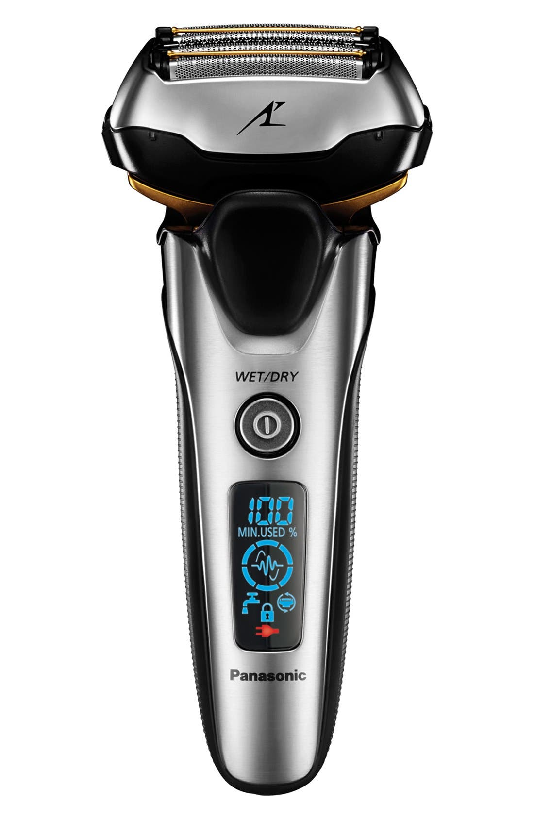 'ARC5' Premium 5-Blade Wet/Dry Shave & Cleaning Station,                             Alternate thumbnail 3, color,                             000