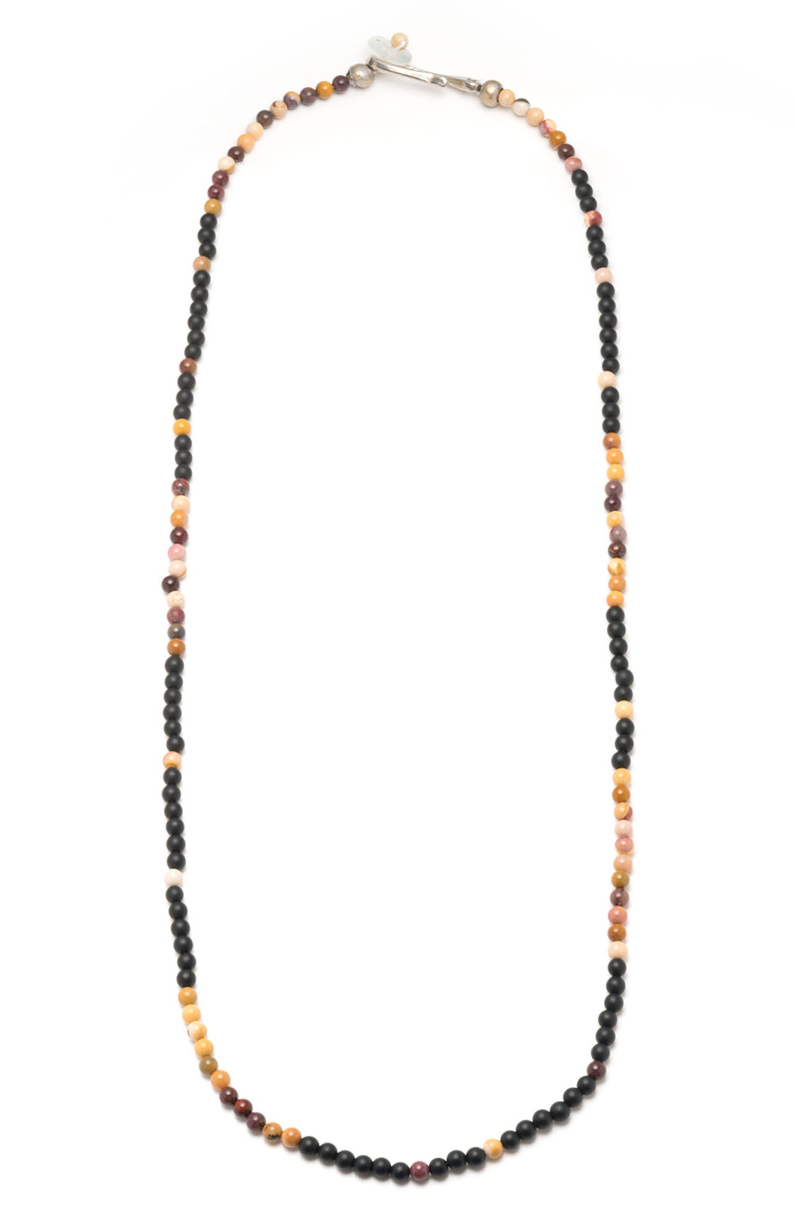 Loyal Morse Necklace,                             Main thumbnail 1, color,                             001