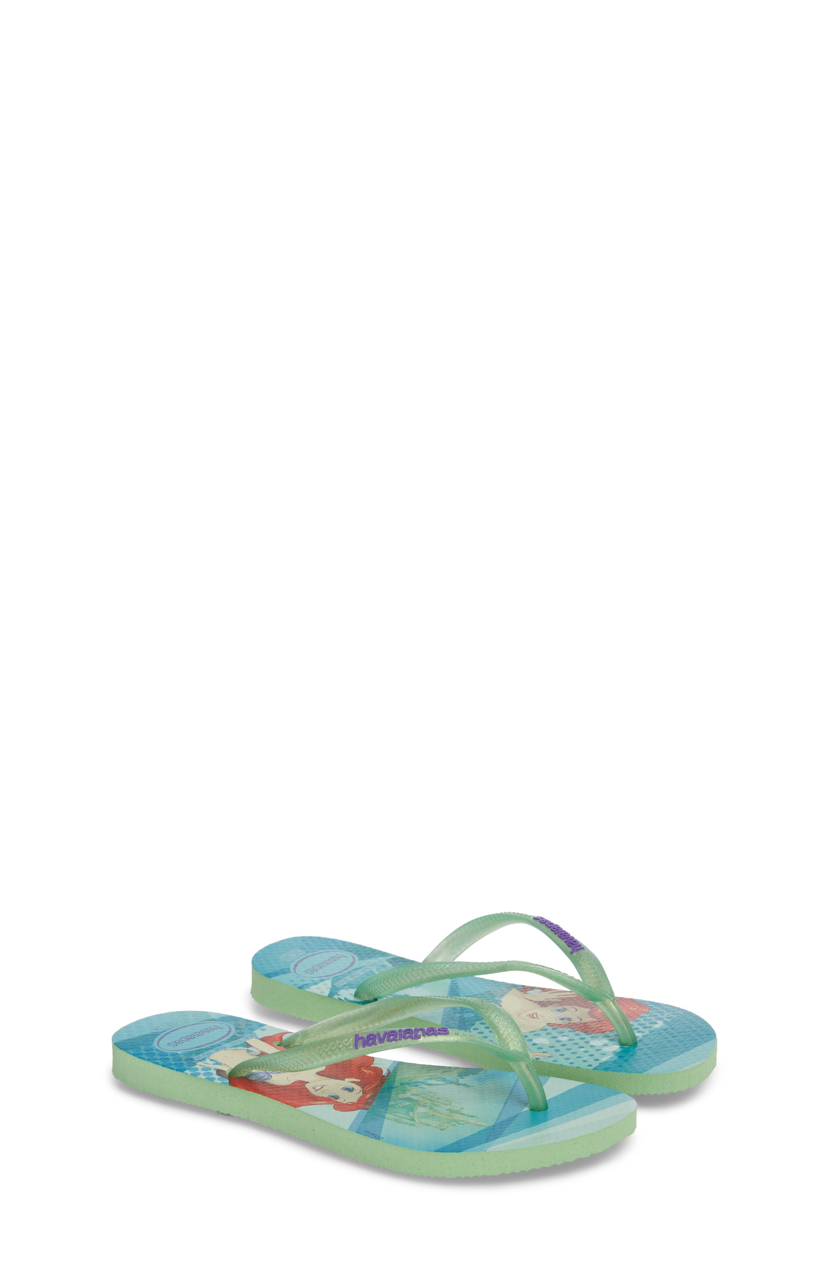 'Disney Princess' Flip Flops,                             Alternate thumbnail 2, color,                             301