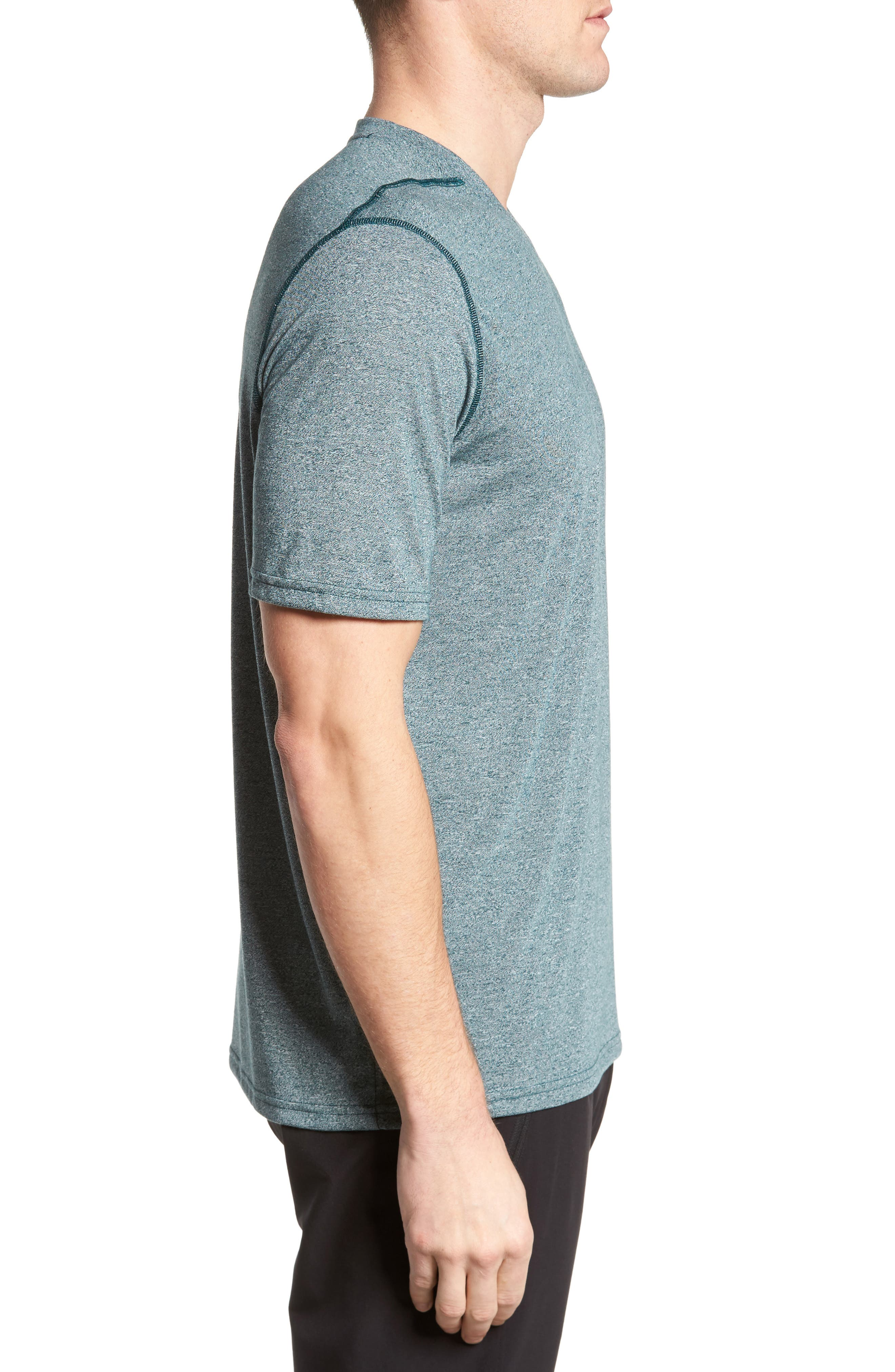 Regular Fit Threadborne T-Shirt,                             Alternate thumbnail 3, color,                             300